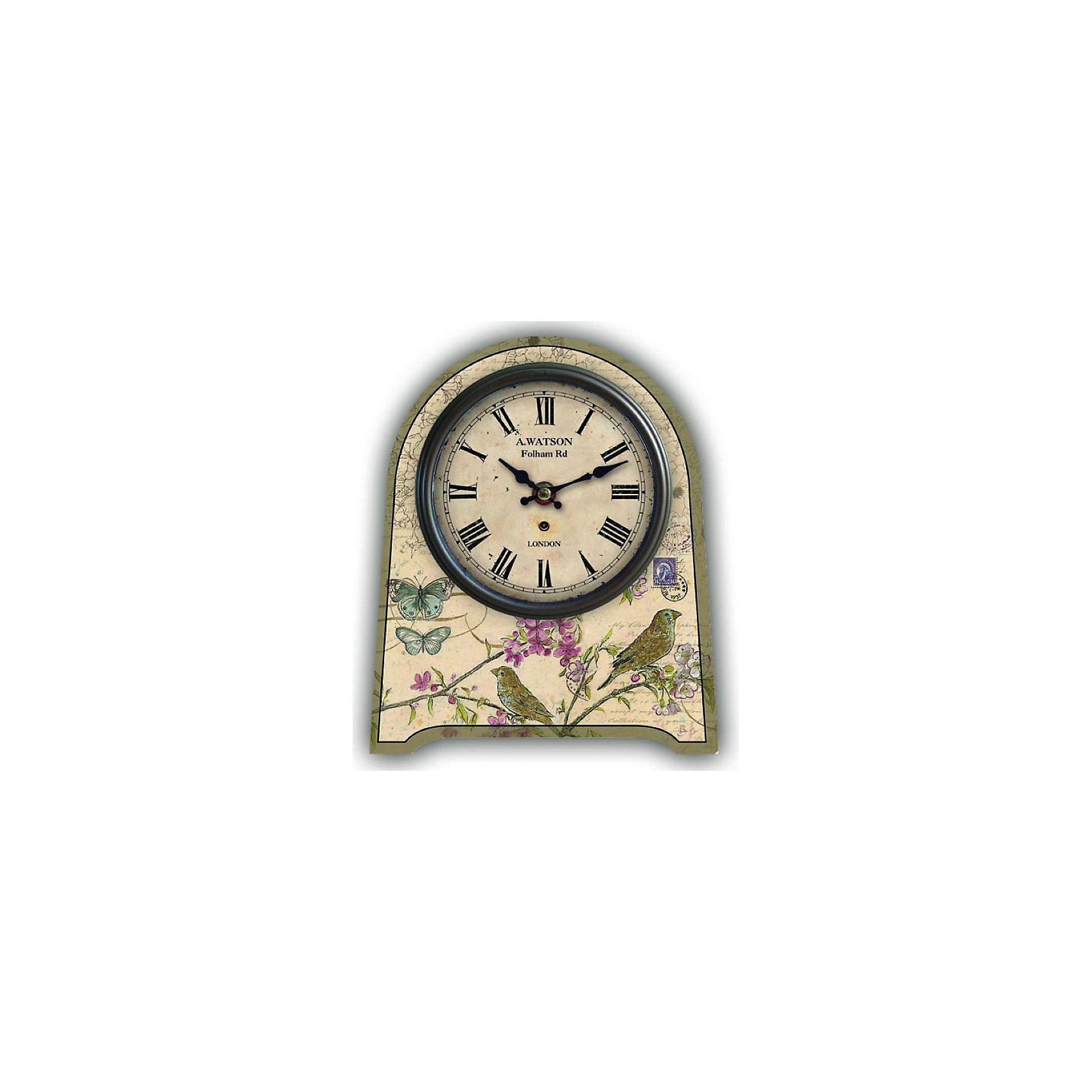 Часы настольные Бабочки и птички кварцевые, с циферблатом, Феникс-ПрезентПредметы интерьера<br>Часы настольные Бабочки и птички кварцевые, с циферблатом, Феникс-Презент<br><br>Характеристики:<br><br>• оригинальный дизайн<br>• яркий рисунок<br>• тип часов: кварцевые<br>• размер: 20х24 см<br>• материал: МДФ<br>• батарейки: АА - 1 шт. (не входит в комплект)<br><br>Настольные часы Бабочки и птички станут приятным украшением для любой комнаты. Изделие изготовлено из экологически чистых материалов. Поверхность часов оформлена красочным рисунком с изображением птиц и бабочек. Часы имеют две стрелки (часовая и минутная). Оригинальный дизайн подчеркнет индивидуальность и стиль интерьера.<br><br>Часы настольные Бабочки и птички кварцевые, с циферблатом, Феникс-Презент вы можете купить в нашем интернет-магазине.<br><br>Ширина мм: 200<br>Глубина мм: 240<br>Высота мм: 200<br>Вес г: 417<br>Возраст от месяцев: 120<br>Возраст до месяцев: 2147483647<br>Пол: Унисекс<br>Возраст: Детский<br>SKU: 5449705