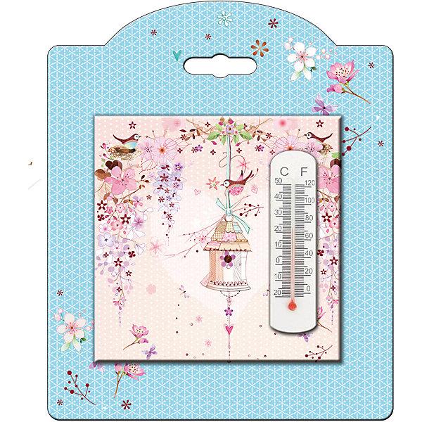 Термометр декоративный, в корпусе из доломитовой керамики, Феникс-ПрезентТермометры<br>Термометр декоративный, жидкостный, бытовой в корпусе из доломитовой керамики, Феникс-Презент<br><br>Характеристики:<br><br>• красивое оформление<br>• есть отверстие для подвешивания<br>• размер: 10х10 см<br>• материал корпуса: доломитовая керамика<br><br>Декоративный термометр украсит интерьер вашему комнаты, придавая ему изящность и индивидуальность. Корпус изготовлен из доломитовой керамики. Наружная часть декорирована красивым изображением птички. Размер термометра - 10х10 сантиметров.<br><br>Термометр декоративный, жидкостный, бытовой в корпусе из доломитовой керамики, Феникс-Презент можно купить в нашем интернет-магазине.<br>Ширина мм: 100; Глубина мм: 100; Высота мм: 10; Вес г: 128; Возраст от месяцев: 168; Возраст до месяцев: 2147483647; Пол: Унисекс; Возраст: Детский; SKU: 5449747;
