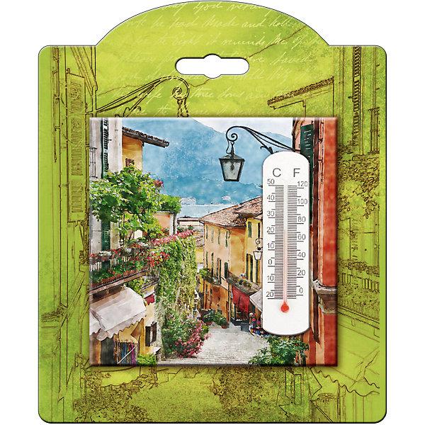 Термометр декоративный, в корпусе из доломитовой керамики, Феникс-ПрезентТермометры<br>Термометр декоративный, жидкостный, бытовой в корпусе из доломитовой керамики, Феникс-Презент<br><br>Характеристики:<br><br>• красивое оформление<br>• есть отверстие для подвешивания<br>• размер: 10х10 см<br>• материал корпуса: доломитовая керамика<br><br>Красивый термометр подскажет вам температуру воздуха в доме и всегда будет радовать глаз! Корпус изготовлен из прочной доломитовой керамики. Лицевая часть декорирована изображением пейзажа. Размер термометра - 10х10 сантиметров<br><br>Термометр декоративный, жидкостный, бытовой в корпусе из доломитовой керамики, Феникс-Презент можно купить в нашем интернет-магазине.<br><br>Ширина мм: 100<br>Глубина мм: 100<br>Высота мм: 10<br>Вес г: 128<br>Возраст от месяцев: 168<br>Возраст до месяцев: 2147483647<br>Пол: Унисекс<br>Возраст: Детский<br>SKU: 5449748