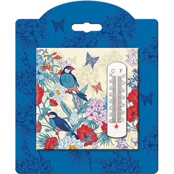 Термометр декоративный, в корпусе из доломитовой керамики, Феникс-ПрезентТермометры<br>Термометр декоративный, жидкостный, бытовой в корпусе из доломитовой керамики, Феникс-Презент<br><br>Характеристики:<br><br>• красивое оформление<br>• есть отверстие для подвешивания<br>• размер: 10х10 см<br>• материал корпуса: доломитовая керамика<br><br>Декоративный термометр не только подскажет вам температуру в доме, но и украсит интерьер комнаты. Корпус выполнен из доломитовой керамики. Наружная часть термометра оформлена красивым узором и изображением птиц. Есть специальное отверстие для подвешивания. Размер термометра - 10х10 сантиметров.<br><br>Термометр декоративный, жидкостный, бытовой в корпусе из доломитовой керамики, Феникс-Презент можно купить в нашем интернет-магазине.<br><br>Ширина мм: 100<br>Глубина мм: 100<br>Высота мм: 10<br>Вес г: 128<br>Возраст от месяцев: 168<br>Возраст до месяцев: 2147483647<br>Пол: Унисекс<br>Возраст: Детский<br>SKU: 5449749
