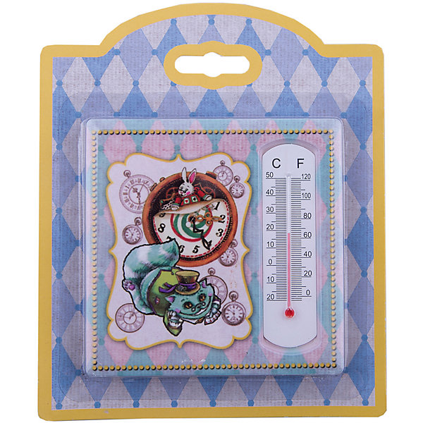 Термометр декоративный, в корпусе из доломитовой керамики, Феникс-ПрезентТермометры<br>Термометр декоративный, жидкостный, бытовой в корпусе из доломитовой керамики, Феникс-Презент<br><br>Характеристики:<br><br>• красивое оформление<br>• есть отверстие для подвешивания<br>• размер: 10х10 см<br>• материал корпуса: доломитовая керамика<br><br>Красивый термометр подскажет вам температуру воздуха в доме и всегда будет радовать глаз! Корпус изготовлен из прочной доломитовой керамики. Лицевая часть декорирована изображением чеширского кота. Размер термометра - 10х10 сантиметров<br><br>Термометр декоративный, жидкостный, бытовой в корпусе из доломитовой керамики, Феникс-Презент можно купить в нашем интернет-магазине.<br><br>Ширина мм: 140<br>Глубина мм: 150<br>Высота мм: 10<br>Вес г: 128<br>Возраст от месяцев: 168<br>Возраст до месяцев: 2147483647<br>Пол: Унисекс<br>Возраст: Детский<br>SKU: 5449753