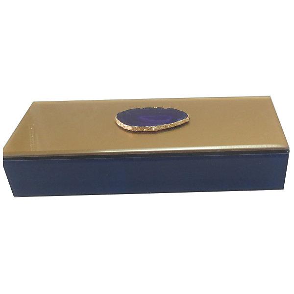 Шкатулка Фиолетовый агат из стекла для мелочей, Феникс-ПрезентДетские предметы интерьера<br>Шкатулка Фиолетовый агат из стекла для мелочей, Феникс-Презент<br><br>Характеристики:<br><br>• расцветка под агат<br>• размер: 24,5х9,5х4,5 см<br>• материал: стекло<br><br>Шкатулка Фиолетовый агат украсит интерьер комнаты и позволит вам хранить различные мелочи и безделушки в одном месте. Шкатулка надежно закрывается крышкой. Приятная расцветка шкатулки всегда будет радовать глаз!<br><br>Шкатулку Фиолетовый агат из стекла для мелочей, Феникс-Презент можно купить в нашем интернет-магазине.<br>Ширина мм: 245; Глубина мм: 95; Высота мм: 45; Вес г: 583; Возраст от месяцев: 60; Возраст до месяцев: 2147483647; Пол: Унисекс; Возраст: Детский; SKU: 5449772;