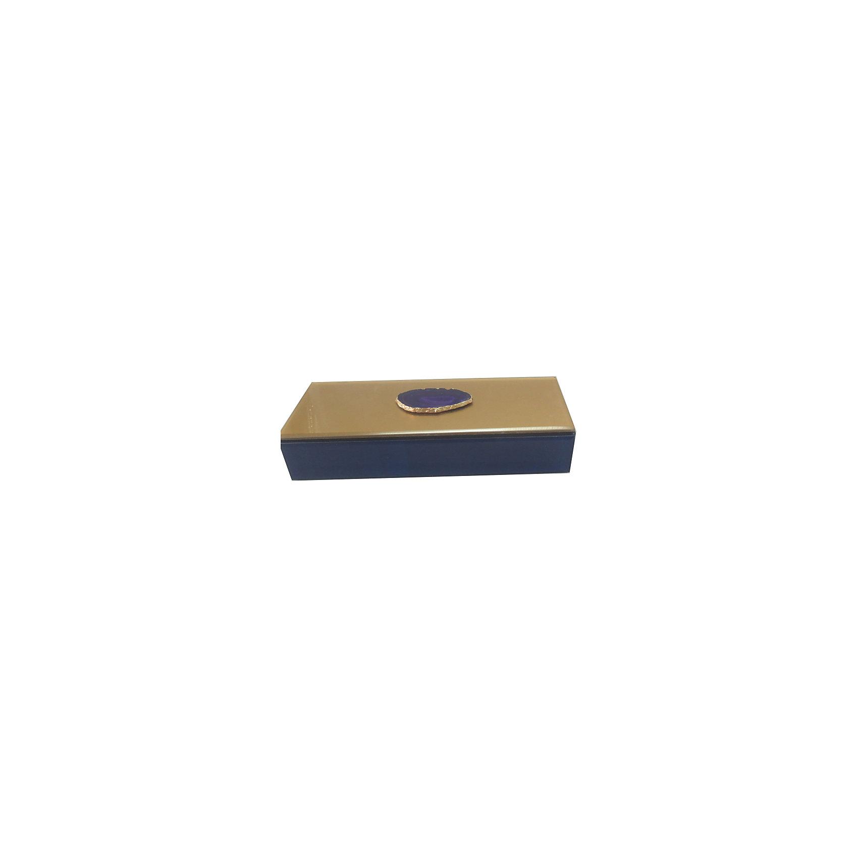 Шкатулка Фиолетовый агат из стекла для мелочей, Феникс-ПрезентПредметы интерьера<br>Шкатулка Фиолетовый агат из стекла для мелочей, Феникс-Презент<br><br>Характеристики:<br><br>• расцветка под агат<br>• размер: 24,5х9,5х4,5 см<br>• материал: стекло<br><br>Шкатулка Фиолетовый агат украсит интерьер комнаты и позволит вам хранить различные мелочи и безделушки в одном месте. Шкатулка надежно закрывается крышкой. Приятная расцветка шкатулки всегда будет радовать глаз!<br><br>Шкатулку Фиолетовый агат из стекла для мелочей, Феникс-Презент можно купить в нашем интернет-магазине.<br><br>Ширина мм: 245<br>Глубина мм: 95<br>Высота мм: 45<br>Вес г: 583<br>Возраст от месяцев: 60<br>Возраст до месяцев: 2147483647<br>Пол: Унисекс<br>Возраст: Детский<br>SKU: 5449772