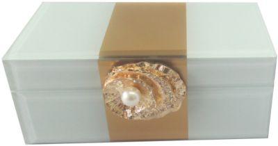 Шкатулка Жемчужина из стекла для мелочей, Феникс-Презент