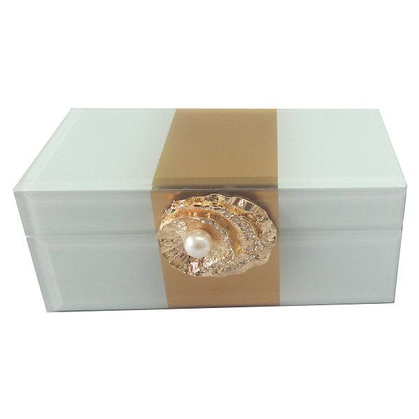 Шкатулка Жемчужина из стекла для мелочей, Феникс-ПрезентДетские предметы интерьера<br>Шкатулка Жемчужина из стекла для мелочей, Феникс-Презент<br><br>Характеристики:<br><br>• расцветка под жемчуг<br>• размер: 15,5х7,5х6,5 см<br>• материал: стекло<br><br>Шкатулка Жемчужина надежно сохранит ваши вещи и украсит интерьер комнаты. Шкатулка изготовлена из стекла. Лицевая часть украшена декоративной ракушкой с жемчужиной. Приятная расцветка шкатулки замечательно впишется в любой интерьер.<br><br>Шкатулку Жемчужина из стекла для мелочей, Феникс-Презент можно купить в нашем интернет-магазине.<br>Ширина мм: 155; Глубина мм: 75; Высота мм: 65; Вес г: 438; Возраст от месяцев: 60; Возраст до месяцев: 2147483647; Пол: Унисекс; Возраст: Детский; SKU: 5449773;