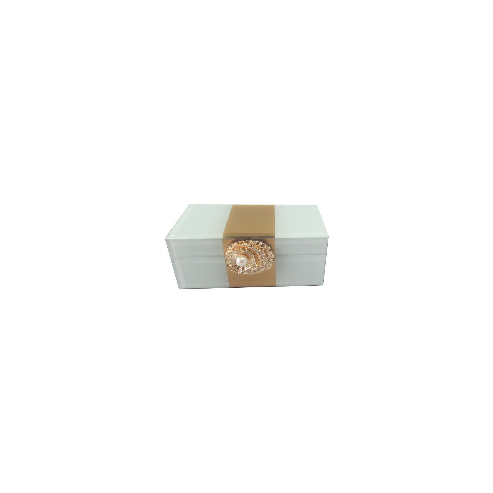 Шкатулка Жемчужина из стекла для мелочей, Феникс-ПрезентПредметы интерьера<br>Шкатулка Жемчужина из стекла для мелочей, Феникс-Презент<br><br>Характеристики:<br><br>• расцветка под жемчуг<br>• размер: 15,5х7,5х6,5 см<br>• материал: стекло<br><br>Шкатулка Жемчужина надежно сохранит ваши вещи и украсит интерьер комнаты. Шкатулка изготовлена из стекла. Лицевая часть украшена декоративной ракушкой с жемчужиной. Приятная расцветка шкатулки замечательно впишется в любой интерьер.<br><br>Шкатулку Жемчужина из стекла для мелочей, Феникс-Презент можно купить в нашем интернет-магазине.<br><br>Ширина мм: 155<br>Глубина мм: 75<br>Высота мм: 65<br>Вес г: 438<br>Возраст от месяцев: 60<br>Возраст до месяцев: 2147483647<br>Пол: Унисекс<br>Возраст: Детский<br>SKU: 5449773