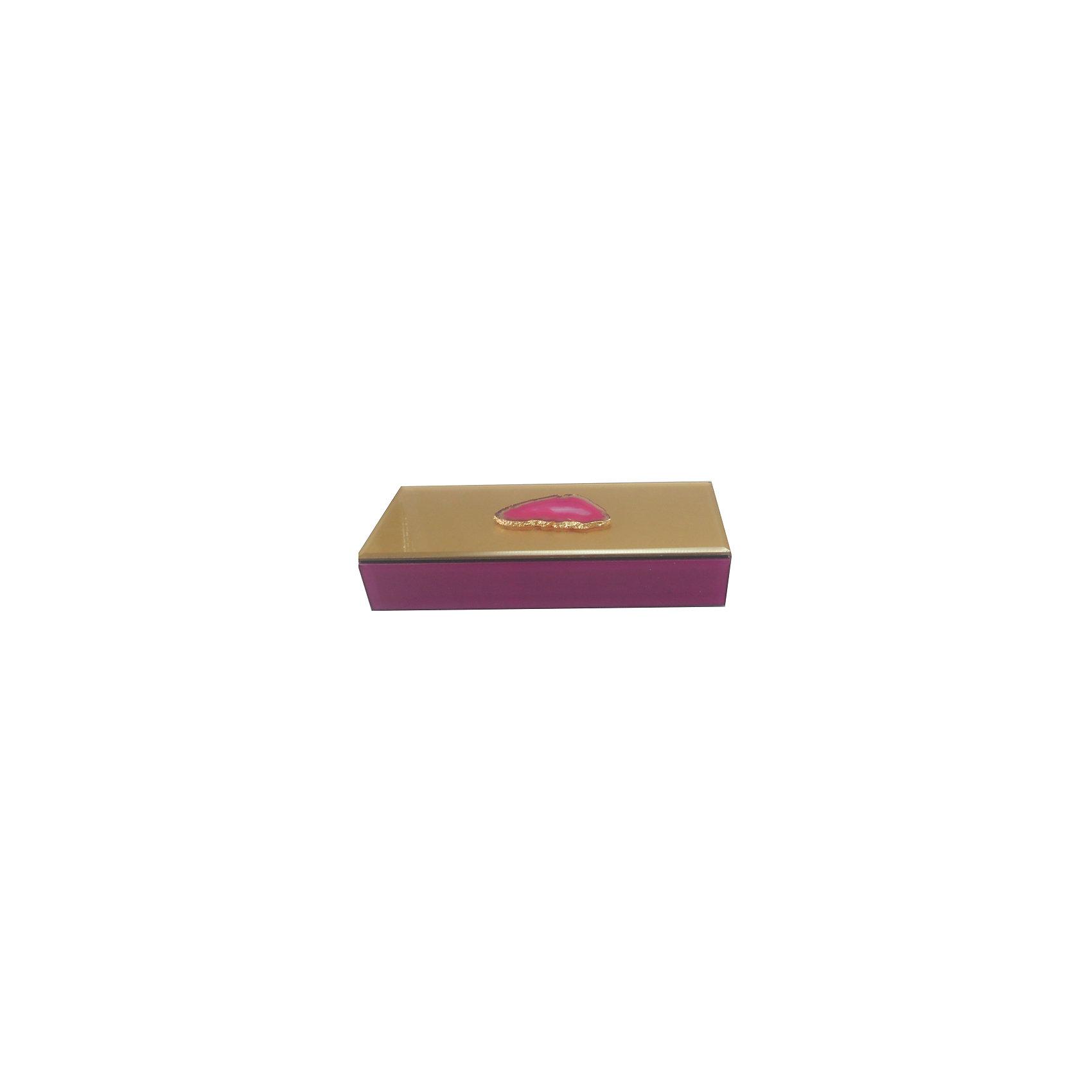 Шкатулка Розовый агат из стекла для мелочей, Феникс-ПрезентПредметы интерьера<br>Шкатулка Розовый агат из стекла для мелочей, Феникс-Презент<br><br>Характеристики:<br><br>• расцветка под агат<br>• размер: 24,5х9,5х4,5 см<br>• материал: стекло<br><br>Шкатулка Розовый агат украсит интерьер комнаты и позволит вам хранить различные мелочи и безделушки в одном месте. Шкатулка надежно закрывается крышкой. Приятная расцветка шкатулки всегда будет радовать глаз!<br><br>Шкатулку Розовый агат из стекла для мелочей, Феникс-Презент можно купить в нашем интернет-магазине.<br><br>Ширина мм: 245<br>Глубина мм: 95<br>Высота мм: 45<br>Вес г: 583<br>Возраст от месяцев: 60<br>Возраст до месяцев: 2147483647<br>Пол: Унисекс<br>Возраст: Детский<br>SKU: 5449775