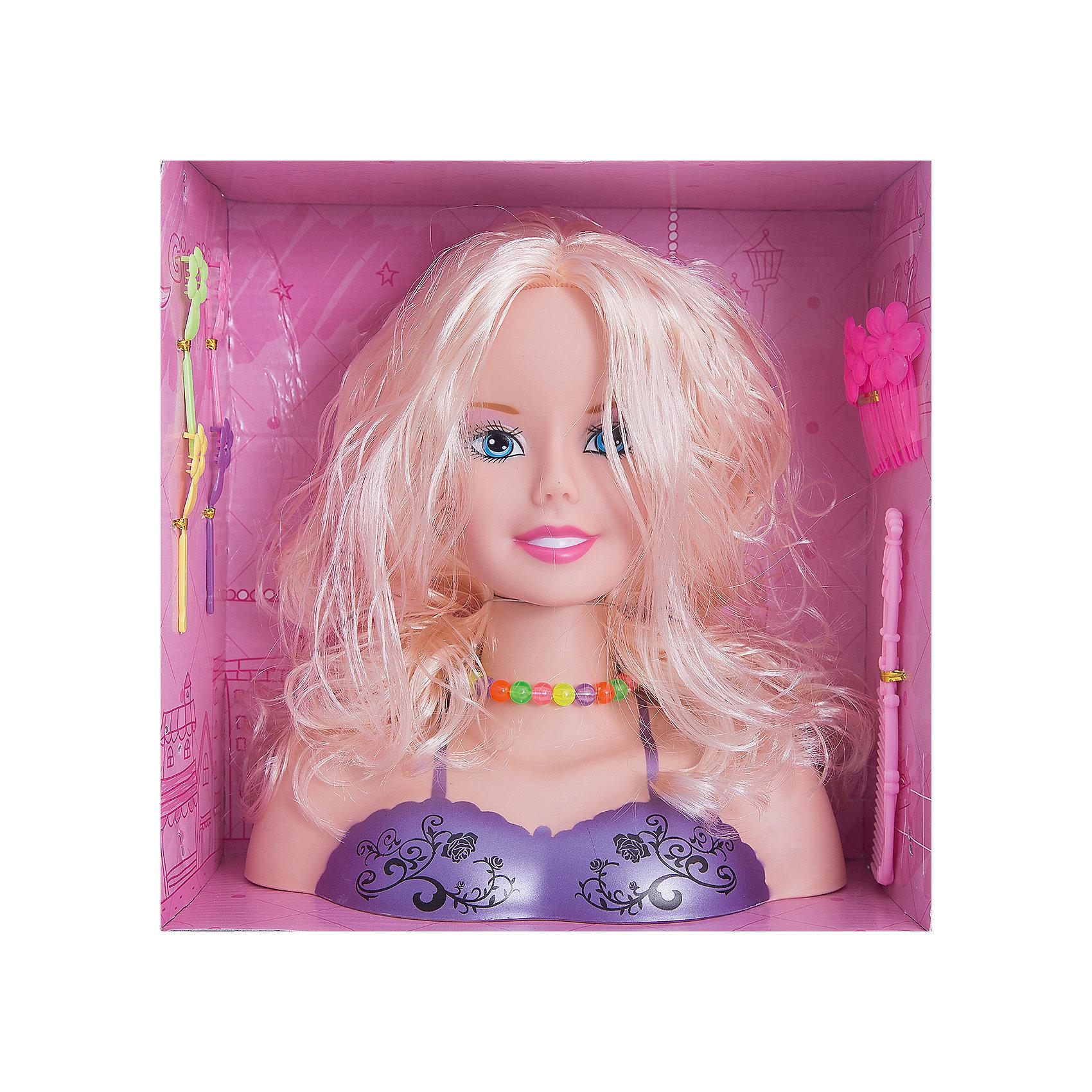 Набор стилиста Принцесса с аксессуарами, блондинка, Shantou GepaiСюжетно-ролевые игры<br>Набор стилиста Принцесса с аксессуарами, блондинка, Shantou Gepai.<br><br>Характеристики:<br><br>• В наборе: кукла-манекен (бюст), аксессуарами<br>• Материал: пластик, текстиль<br>• Упаковка: картонная коробка блистерного типа<br>• Размер упаковки: 26х12х26 см.<br><br>Замечательный набор стилиста Принцесса содержит манекен и аксессуары. Манекен представляет собой бюст очаровательной куклы с шикарными длинными волосами, которые девочки могут расчесывать, укладывать их и придумывать с ними различные стильные прически. Игра с таким набором будет интересной, ведь практически каждая девочка мечтает научиться делать прически и придумывать различные модные образы.<br><br>Набор стилиста Принцесса с аксессуарами, блондинка, Shantou Gepai можно купить в нашем интернет-магазине.<br><br>Ширина мм: 260<br>Глубина мм: 120<br>Высота мм: 270<br>Вес г: 631<br>Возраст от месяцев: 36<br>Возраст до месяцев: 2147483647<br>Пол: Женский<br>Возраст: Детский<br>SKU: 5450229
