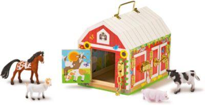 Деревянные игрушки Дом с замочками , Melissa & Doug