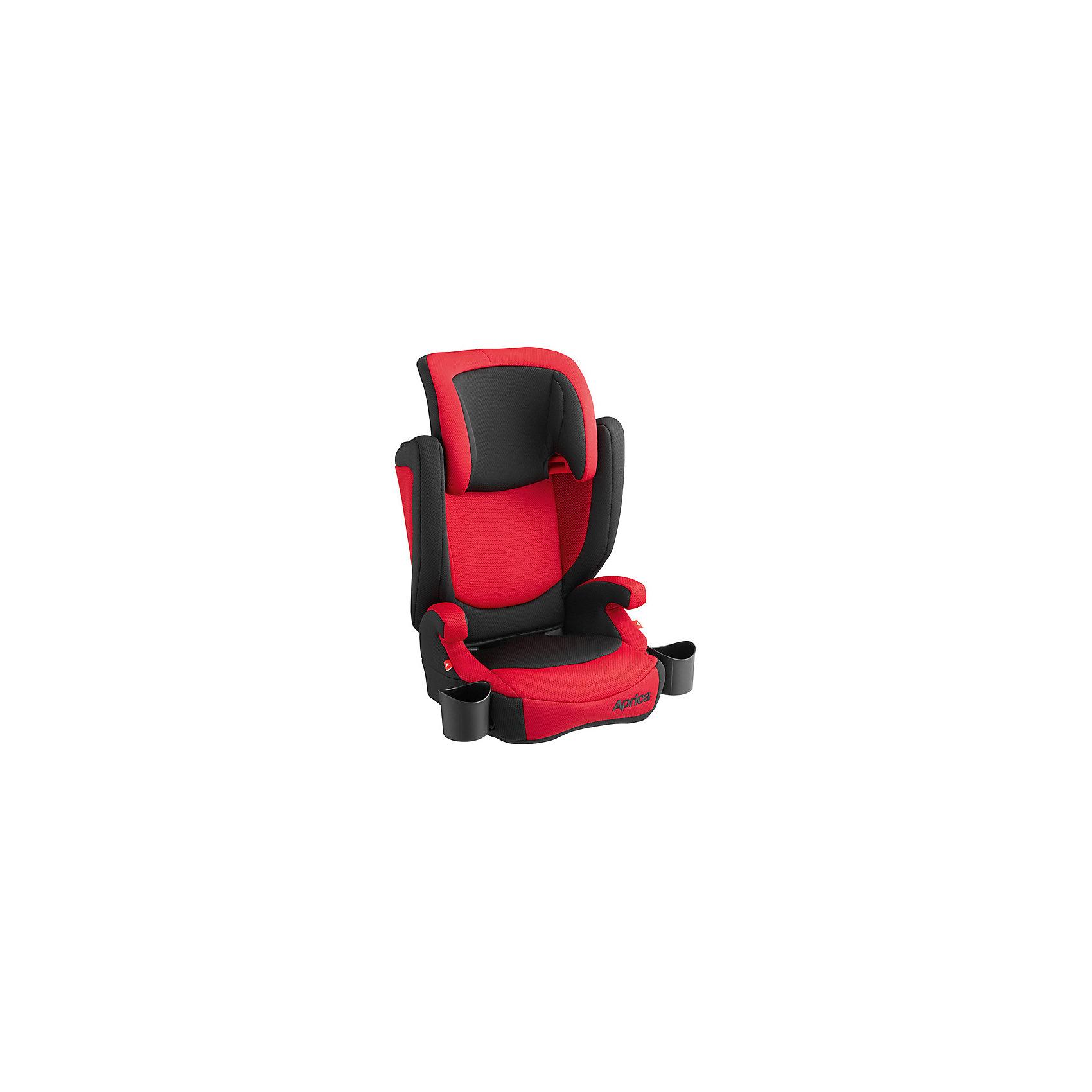 Автокресло Aprica AirRide Ride Red, 15-36 кг, красныйГруппа 2-3 (От 15 до 36 кг)<br>Характеристики автокресла Aprica AirRide: <br><br>• группа автокресла: 2-3;<br>• вес ребенка: 15-36 кг;<br>• возраст ребенка: от 3 до 12 лет;<br>• способ установки: по ходу движения автомобиля;<br>• способ крепления: штатными ремнями безопасности автомобиля;<br>• высота подголовника регулируется;<br>• функция бустера – сиденье с подлокотниками, без спинки;<br>• подстаканники расположены по обе стороны автокресла;<br>• дышащие чехлы можно снять и постирать при температуре 30 градусов;<br>• материал: ударопрочный пластик, полиэстер.<br><br>Размер автокресла: 44х41х67/75 см;<br>Вес автокресла: 4,5 кг;<br>Вес бустера: 1,7 кг.<br><br>Автокресло AirRide Ride Red, 15-36 кг., Aprica, цвет красный можно купить в нашем интернет-магазине.<br><br>Ширина мм: 760<br>Глубина мм: 430<br>Высота мм: 260<br>Вес г: 6400<br>Возраст от месяцев: 9<br>Возраст до месяцев: 132<br>Пол: Унисекс<br>Возраст: Детский<br>SKU: 5451728