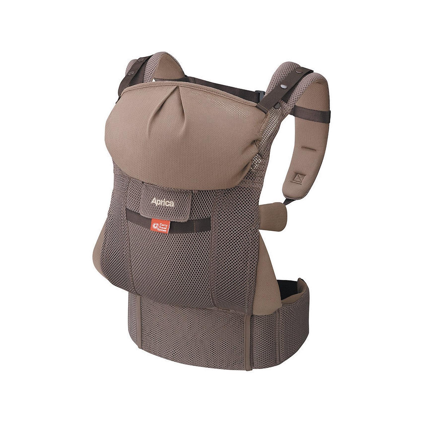 Переноска-кенгуру COLAN CTS, Aprica, коричневыйСлинги и рюкзаки-переноски<br>Характеристики:<br><br>• поддержка шеи и головы;<br>• анатомически правильное разведение бедер;<br>• накладки-слюнявчики защищают ремни;<br>• переноска оснащена широкими плечевыми и поясными ремнями;<br>• длина поясного ремня регулируется: 74-118 см.<br><br>Переноска помогает уменьшить нагрузку на руки родителей, когда малыш находится в переноске, нагрузка равномерно распределяется. Малыша в переноске можно уложить в коляску, чтобы при необходимости быстро взять его на руки и успокоить. <br><br>Переноску-кенгуру COLAN CTS, Aprica, цвет коричневый можно купить в нашем интернет-магазине.<br><br>Ширина мм: 140<br>Глубина мм: 170<br>Высота мм: 290<br>Вес г: 5600<br>Возраст от месяцев: 0<br>Возраст до месяцев: 36<br>Пол: Унисекс<br>Возраст: Детский<br>SKU: 5451729