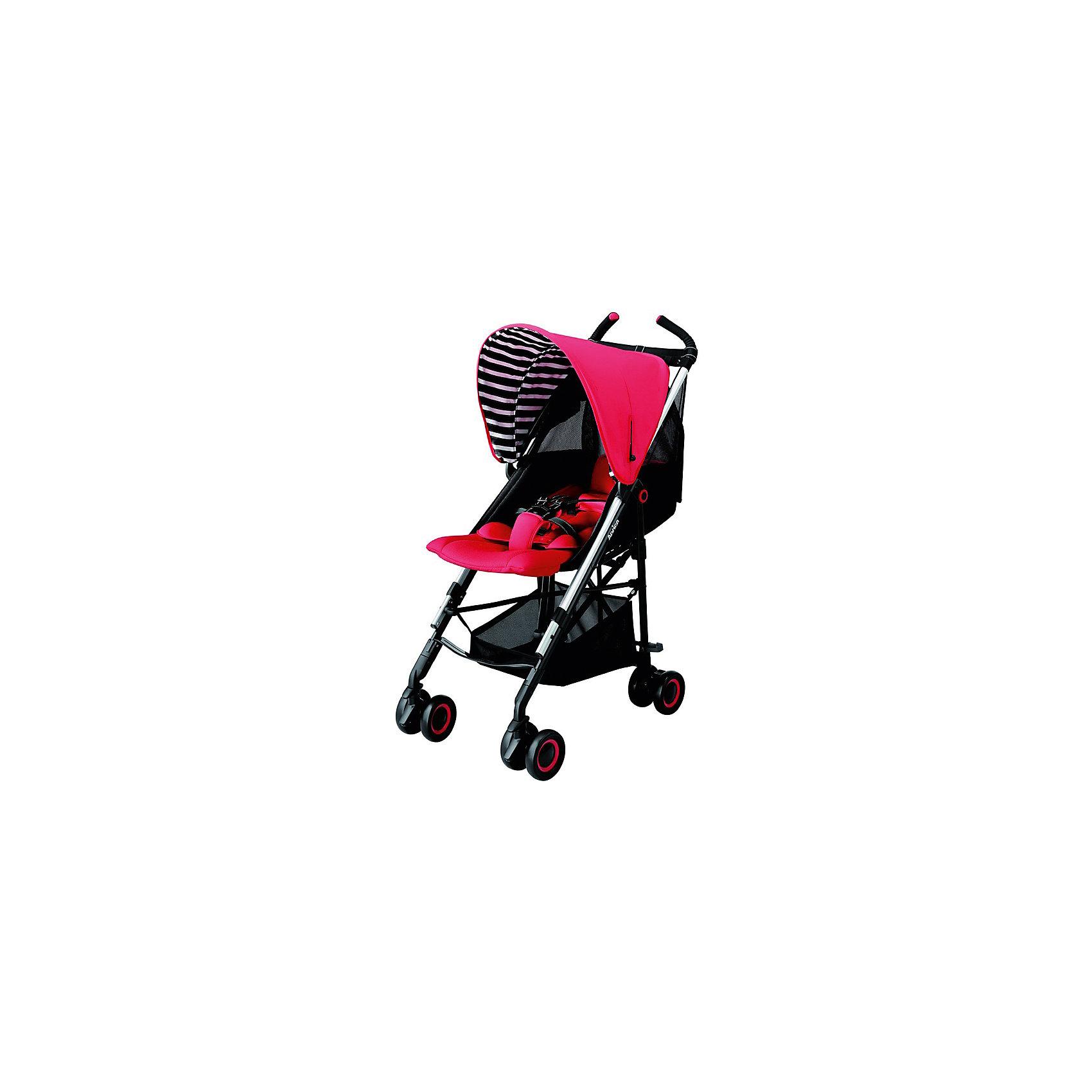 Коляска-трость STICK True Red, Aprica, красныйХарактеристики коляски Aprica STICK<br><br>Прогулочный блок: <br><br>• регулируемые по длине 5-ти точечные ремни безопасности;<br>• регулируемый наклон спинки, угол наклона 110-140 градусов;<br>• глубокий капюшон оснащен широким солнцезащитным козырьком;<br>• на капюшоне находится смотровое окошко; <br>• материал: пластик, полиэстер;<br>• высота сиденья от земли: 50 см.<br><br>Шасси коляски: <br><br>• сдвоенные колеса коляски, 4 пары, всего 8 шт.;<br>• передние колеса поворотные с блокировкой;<br>• тип тормоза: ножной;<br>• механизм складывания: трость;<br>• коляска складывается и раскладывается одной рукой;<br>• рама складывается вместе с прогулочным блоком;<br>• коляска оснащена плечевым ремнем для переноски на плече в сложенном виде;<br>• материал рамы: алюминий.<br><br>Размер коляски: 49х86х105 см<br>Размер коляски в сложенном виде: 32х26х99 см<br>Вес коляски: 5,9 кг<br><br>Комплектация:<br><br>• прогулочная коляска STICK;<br>• инструкция. <br><br>Коляску-трость STICK True Red, Aprica, цвет красный можно купить в нашем интернет-магазине.<br><br>Ширина мм: 550<br>Глубина мм: 380<br>Высота мм: 1070<br>Вес г: 7600<br>Возраст от месяцев: 0<br>Возраст до месяцев: 36<br>Пол: Унисекс<br>Возраст: Детский<br>SKU: 5451747