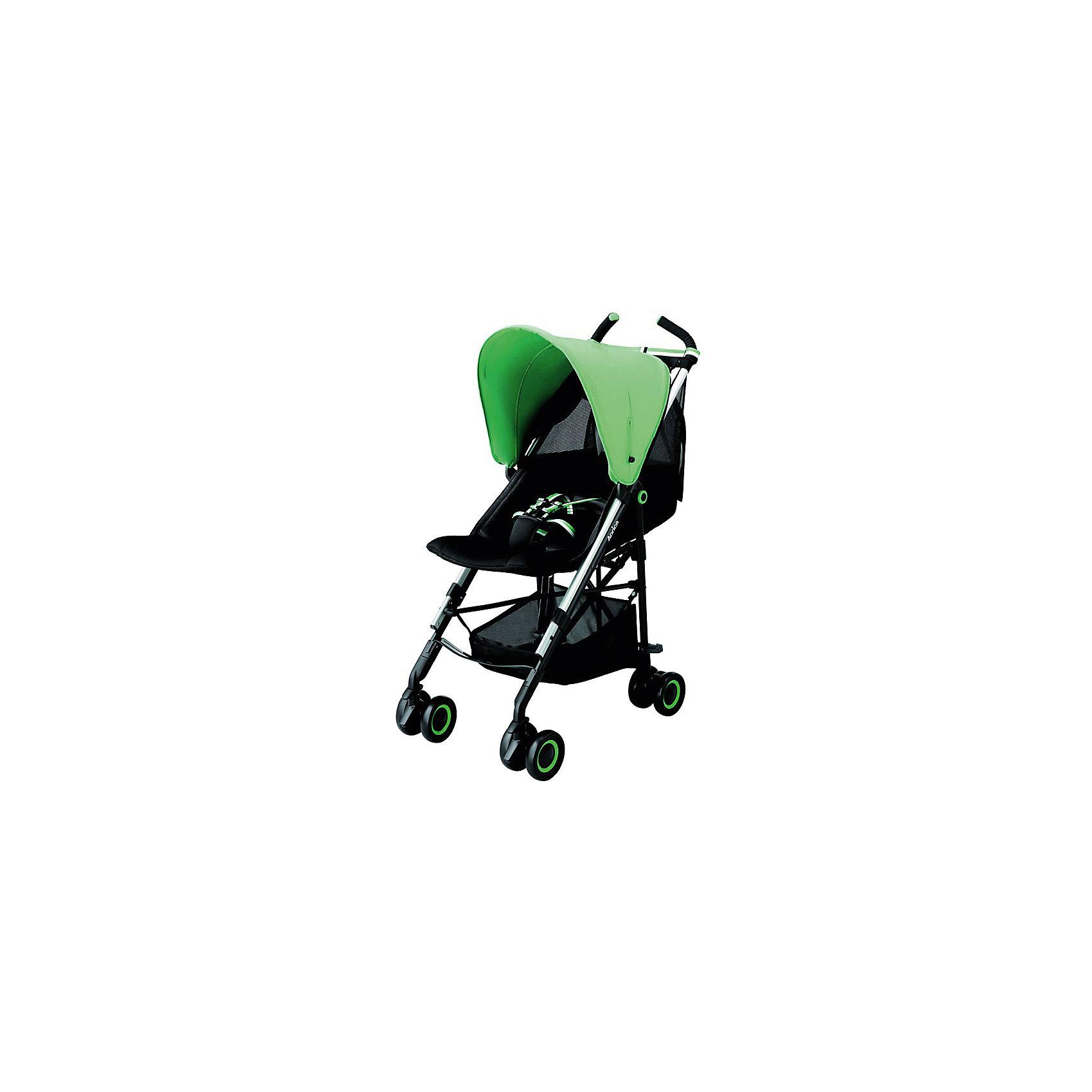Коляска-трость Aprica STICK Emerald Green, морскойКоляски-трости<br>Характеристики коляски Aprica STICK<br><br>Прогулочный блок: <br><br>• регулируемые по длине 5-ти точечные ремни безопасности;<br>• регулируемый наклон спинки, угол наклона 110-140 градусов;<br>• глубокий капюшон оснащен широким солнцезащитным козырьком;<br>• на капюшоне находится смотровое окошко;<br>• материал: пластик, полиэстер;<br>• высота сиденья от земли: 50 см.<br><br>Шасси коляски: <br><br>• сдвоенные колеса коляски, 4 пары, всего 8 шт.;<br>• передние колеса поворотные с блокировкой;<br>• тип тормоза: ножной;<br>• механизм складывания: трость;<br>• коляска складывается и раскладывается одной рукой;<br>• рама складывается вместе с прогулочным блоком;<br>• коляска оснащена плечевым ремнем для переноски на плече в сложенном виде;<br>• материал рамы: алюминий.<br><br>Размер коляски: 49х86х105 см<br>Размер коляски в сложенном виде: 32х26х99 см<br>Вес коляски: 5,9 кг<br><br>Комплектация:<br><br>• прогулочная коляска STICK;<br>• инструкция. <br><br>Коляску-трость STICK Emerald Green, Aprica, цвет морской можно купить в нашем интернет-магазине.<br><br>Ширина мм: 550<br>Глубина мм: 380<br>Высота мм: 1070<br>Вес г: 5900<br>Возраст от месяцев: 0<br>Возраст до месяцев: 36<br>Пол: Унисекс<br>Возраст: Детский<br>SKU: 5451748