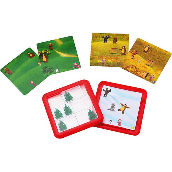Логическая игра Играем в прятки, Маша и медведь, BondibonСтратегические настольные игры<br>Логическая игра Играем в прятки, Маша и медведь, Bondibon (Бондибон).<br><br>Характеристики:<br><br>• Возраст: от 6 лет<br>• Комплектация: игровое поле в виде пластиковой коробочки с крышкой, 24 двусторонние картонные карточки, правила игры с ответами к заданиям<br>• Количество игроков: 1<br>• Материал: пластик, картон<br>• Упаковка: картонная коробка<br>• Размер упаковки: 16x5x18 см.<br>• Вес: 375 гр.<br><br>Забавная многоуровневая головоломка для детей и взрослых с любимыми героями мультсериала «Маша и Медведь» придется по душе детям от 6 лет. Игровое поле представляет собой пластиковую коробочку, внутрь которой кладется картинка с заданием, а на крышке закреплены прозрачные передвигающиеся блоки. На картинках-заданиях нарисованы персонажи мультфильма, а на передвигающихся блоках - елочки. <br><br>Цель игры: передвигая блоки, спрятать всех героев за елочками. Елочек всего пять, но как же порой бывает трудно их разместить правильно! В игре предлагается 48 заданий 4 уровней сложности. В зависимости от сложности задания, вариантов решения может быть несколько: для новичка есть 2 способа решения, для профи - всего один. <br><br>В заданиях уровня Мастер нельзя перекрывать улей - это объект-препятствие, усложняющий решение. Игра поможет развить пространственно-логическое и стратегическое мышление, внимательность, зрительное восприятие. Благодаря удобной форме игру можно брать с собой в путешествие.<br><br>Логическую игру Играем в прятки, Маша и медведь, Bondibon (Бондибон) можно купить в нашем интернет-магазине.<br><br>Ширина мм: 165<br>Глубина мм: 45<br>Высота мм: 180<br>Вес г: 375<br>Возраст от месяцев: 72<br>Возраст до месяцев: 144<br>Пол: Унисекс<br>Возраст: Детский<br>SKU: 5451757