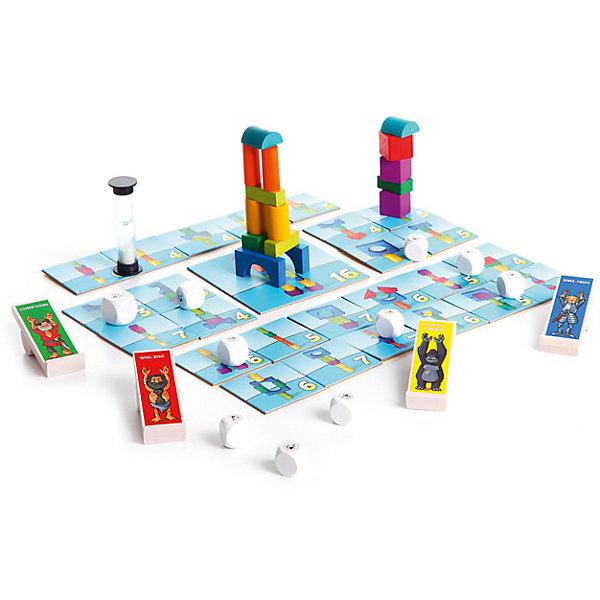 Настольная игра Вдребезги, BondibonНастольные игры для всей семьи<br>Настольная игра Вдребезги, Bondibon (Бондибон).<br><br>Характеристики:<br><br>• Возраст: от 6 лет<br>• Комплектация: 26 карточек с рисунками башен, 16 деталей башен, 10 кубиков-снарядов, 4 катапульты, песочные часы, наклейка, инструкция<br>• Количество игроков: от 2 до 5 человек<br>• Материал: пластик, картон, древесина<br>• Упаковка: картонная коробка<br>• Размер упаковки: 30x30x8 см.<br>• Вес: 1083 гр.<br><br>«Вдребезги» – это слово больше не пугает детей и не расстраивает взрослых, потому что речь идет не о маминой любимой вазе, а об увлекательной настольной игре для веселой детской компании. Играть в нее детям очень просто и необыкновенно интересно. Один из игроков – строитель, остальные – разрушители. <br><br>Строитель должен за определенное время построить из деревянных деталей как можно больше башен. А задача остальных игроков – разрушить башни с помощью катапульт и кубиков-снарядов. За каждую уцелевшую башню строитель в конце раунда получает очки, кто первым наберет победное количество очков – тот и выиграл. <br><br>Эта веселая динамичная игра – прекрасный тренажер для развития внимания, глазомера и быстроты реакции. И, конечно же, отличная возможность получить заряд позитива в компании друзей!<br><br>Настольную игру Вдребезги, Bondibon (Бондибон) можно купить в нашем интернет-магазине.<br><br>Ширина мм: 295<br>Глубина мм: 70<br>Высота мм: 295<br>Вес г: 1083<br>Возраст от месяцев: 72<br>Возраст до месяцев: 144<br>Пол: Унисекс<br>Возраст: Детский<br>SKU: 5451758