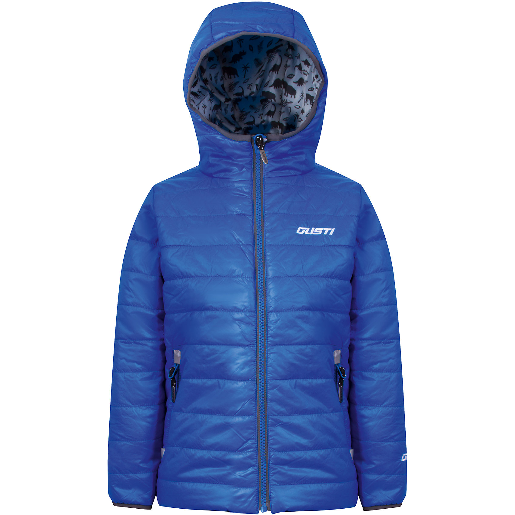 Куртка для мальчика GustiХарактеристики товара:<br><br>• цвет: голубой<br>• состав: 100% полиэстер, полиуретановое покрытие, подкладка - 100% полиэстер<br>• наполнитель: 100 гр teck polifill<br>• температурный режим: от +5° С до +15° С<br>• водонепроницаемый материал<br>• капюшон<br>• карманы<br>• водонепроницаемость: 2000 мм<br>• паропроницаемость: 2000 г/м2<br>• комфортная посадка<br>• светоотражающие элементы<br>• молния<br>• подкладка: таффета<br>• демисезонная<br>• страна бренда: Канада<br><br>Эта демисезонная куртка с мембранной технологией поможет обеспечить ребенку комфорт и тепло. Изделие удобно садится по фигуре, отлично смотрится с различным низом и обувью. Куртка модно выглядит, она хорошо защищает от ветра и влаги. Материал отлично подходит для дождливой погоды. Стильный дизайн разрабатывался специально для детей.<br><br>Куртку для мальчика от известного бренда Gusti (Густи) можно купить в нашем интернет-магазине.<br><br>Ширина мм: 356<br>Глубина мм: 10<br>Высота мм: 245<br>Вес г: 519<br>Цвет: синий<br>Возраст от месяцев: 24<br>Возраст до месяцев: 36<br>Пол: Мужской<br>Возраст: Детский<br>Размер: 98,152,100,92,104,110,116,120,122,128,140<br>SKU: 5452402