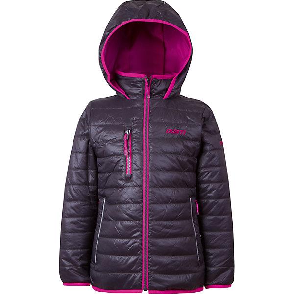 Куртка для девочки GustiВерхняя одежда<br>Характеристики товара:<br><br>• цвет: чёрный<br>• состав: 100% полиэстер, полиуретановое покрытие, подкладка - 100% полиэстер<br>• наполнитель: 100 гр teck polifill<br>• температурный режим: от +5° С до +15° С<br>• водонепроницаемый материал<br>• капюшон<br>• карманы<br>• водонепроницаемость: 2000 мм<br>• паропроницаемость: 2000 г/м2<br>• комфортная посадка<br>• светоотражающие элементы<br>• молния<br>• подкладка: таффета<br>• демисезонная<br>• страна бренда: Канада<br><br>Эта демисезонная куртка с мембранной технологией поможет обеспечить ребенку комфорт и тепло. Изделие удобно садится по фигуре, отлично смотрится с различным низом и обувью. Куртка модно выглядит, она хорошо защищает от ветра и влаги. Материал отлично подходит для дождливой погоды. Стильный дизайн разрабатывался специально для детей.<br><br>Куртку для девочки от известного бренда Gusti (Густи) можно купить в нашем интернет-магазине.<br><br>Ширина мм: 356<br>Глубина мм: 10<br>Высота мм: 245<br>Вес г: 519<br>Цвет: черный<br>Возраст от месяцев: 36<br>Возраст до месяцев: 48<br>Пол: Женский<br>Возраст: Детский<br>Размер: 104,92,152,140,128,122,120,116,110,100,98<br>SKU: 5452538
