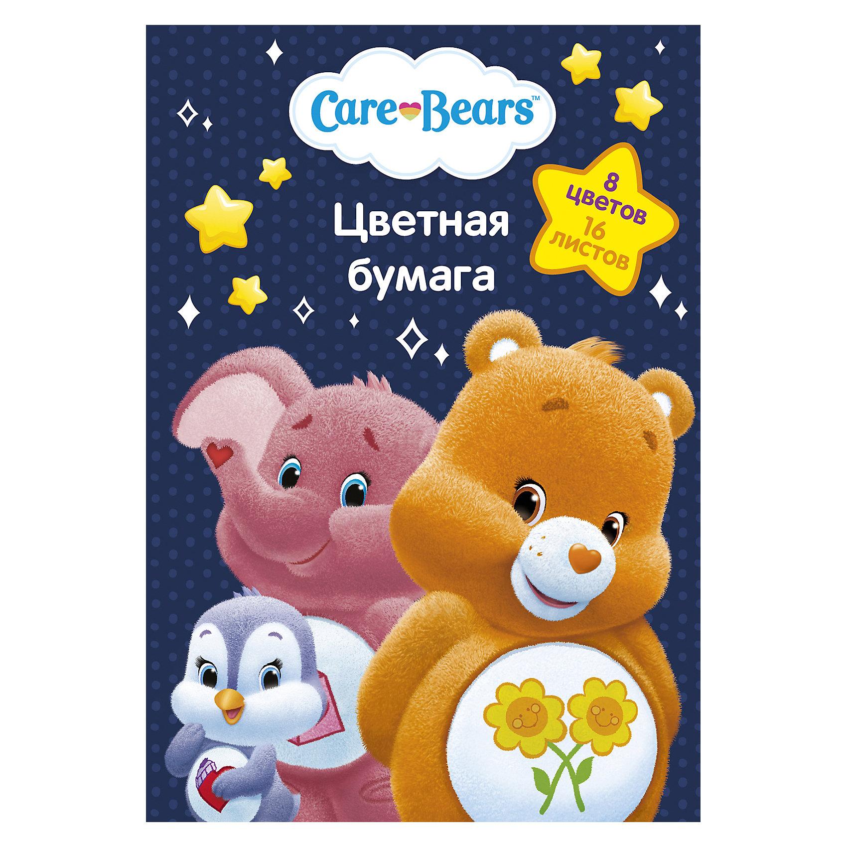Цветная односторонняя бумага Care Bears, 16 листов, 8 цветов, Заботливые мишкиБумажная продукция<br>Характеристики цветной односторонней бумаги Care Bears 16 листов, 8 цветов, Заботливые мишки: <br><br>• возраст: от 3 лет <br>• пол: для девочек<br>• комплект: 16 листов мелованной бумаги с односторонней печатью: желтый, оранжевый, красный, синий, зеленый, фиолетовый, коричневый, черный<br>• состав : бумага, картон.<br>• упаковка: папка с двумя клапанами, выполненная из мелованного картона с глянцевым лаком.<br>• размеры: 29 х 20 см<br>• бренд: Росмэн<br>• страна обладатель бренда: Россия.<br><br>Цветная бумага Care Bears формата А4 идеально подходит для детского творчества: создания аппликаций, оригами и других поделок. В упаковке 8 цветов (16 листов) мелованной бумаги с односторонней печатью: желтый, оранжевый, красный, синий, зеленый, фиолетовый, коричневый, черный. Упаковка: папка (29,4х20,5х0,4 см) с двумя клапанами, выполненная из мелованного картона с глянцевым лаком.<br><br>Цветную одностороннюю бумагу 16 листов, 8 цветов, Care Bears от бренда Росмэн можно купить в нашем интернет-магазине.<br><br>Ширина мм: 292<br>Глубина мм: 205<br>Высота мм: 20<br>Вес г: 108<br>Возраст от месяцев: 36<br>Возраст до месяцев: 2147483647<br>Пол: Женский<br>Возраст: Детский<br>SKU: 5453302