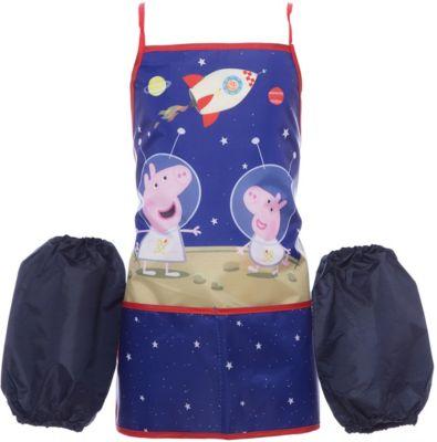 Росмэн Фартук с нарукавниками Космос , Peppa Pig