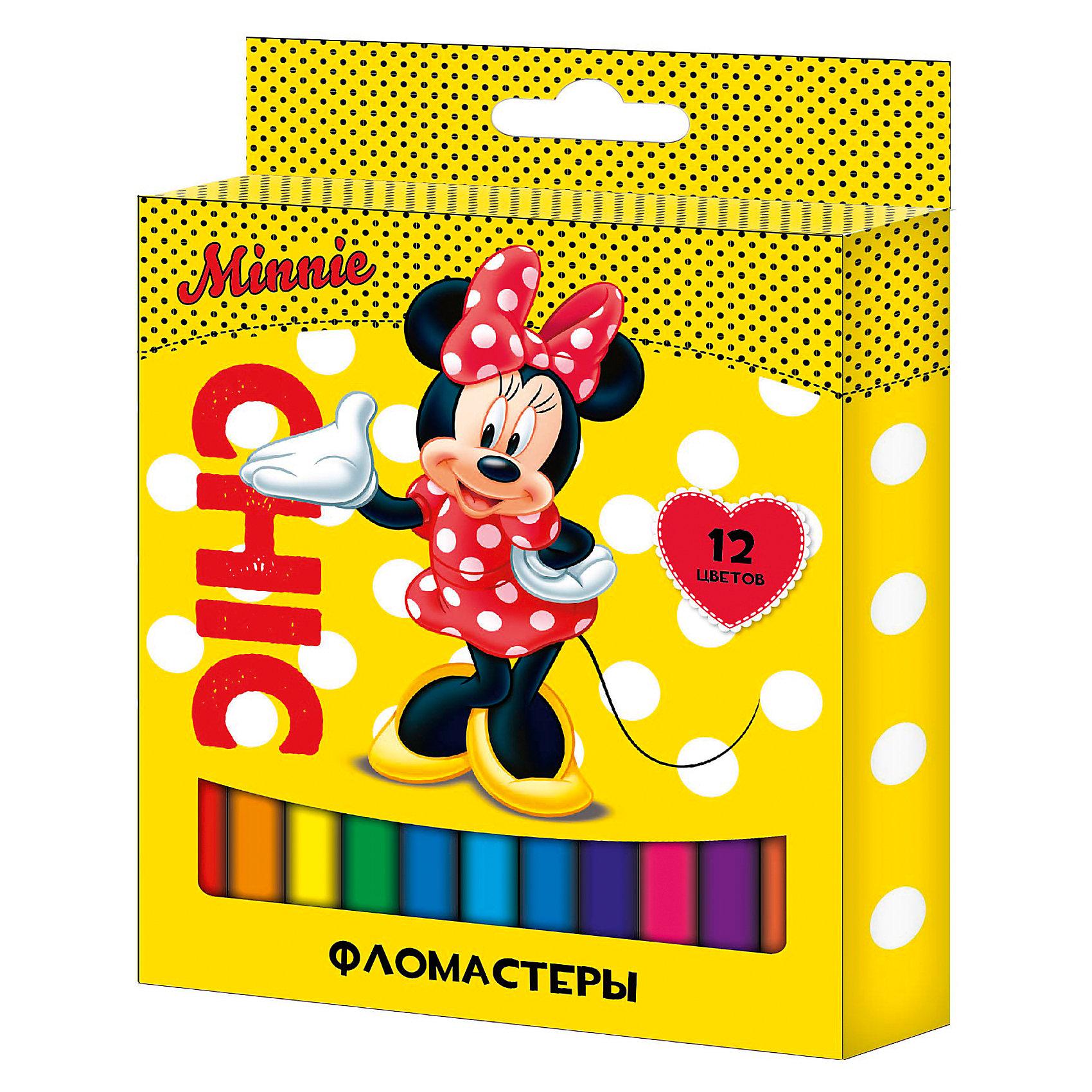 Фломастеры 12 цв., Disney FairiesПисьменные принадлежности<br>Характеристики Фломастеры 12 цв., Disney Fairies:<br><br>• возраст: от 3 лет<br>• пол: для девочек<br>• герой: Микки Маус и его друзья<br>• комплект: 12 фломастеров.<br>• состав : пластик, чернила.<br>• размер упаковки: 16 х 12 х 13 см.<br>• упаковка: картонная коробка.<br>• бренд: Росмэн<br>• страна обладатель бренда: Россия.<br><br>Фломастеры ТМ Disney Минни, идеально подходящие для рисования и раскрашивания, помогут маленькой художнице создать яркие картинки, а упаковка с любимыми героями будет долгое время радовать малышку. В набор входит 12 разноцветных фломастеров с вентилируемыми колпачками, безопасными для детей. Диаметр корпуса: 0,8 см; длина: 13,5 см. Фломастеры изготовлены из материала, обеспечивающего прочность корпуса и препятствующего испарению чернил, благодаря этому они имеют гарантированно долгий срок службы: корпус не ломается, даже если согнуть фломастер пополам. Состав: ПВХ, пластик, чернила на водной основе. Срок годности: 2 года.<br><br>Фломастеры 12 цв., Disney Fairies торговой марки Росмен можно купить в нашем интернет-магазине.<br><br>Ширина мм: 135<br>Глубина мм: 105<br>Высота мм: 100<br>Вес г: 60<br>Возраст от месяцев: 36<br>Возраст до месяцев: 2147483647<br>Пол: Женский<br>Возраст: Детский<br>SKU: 5453353