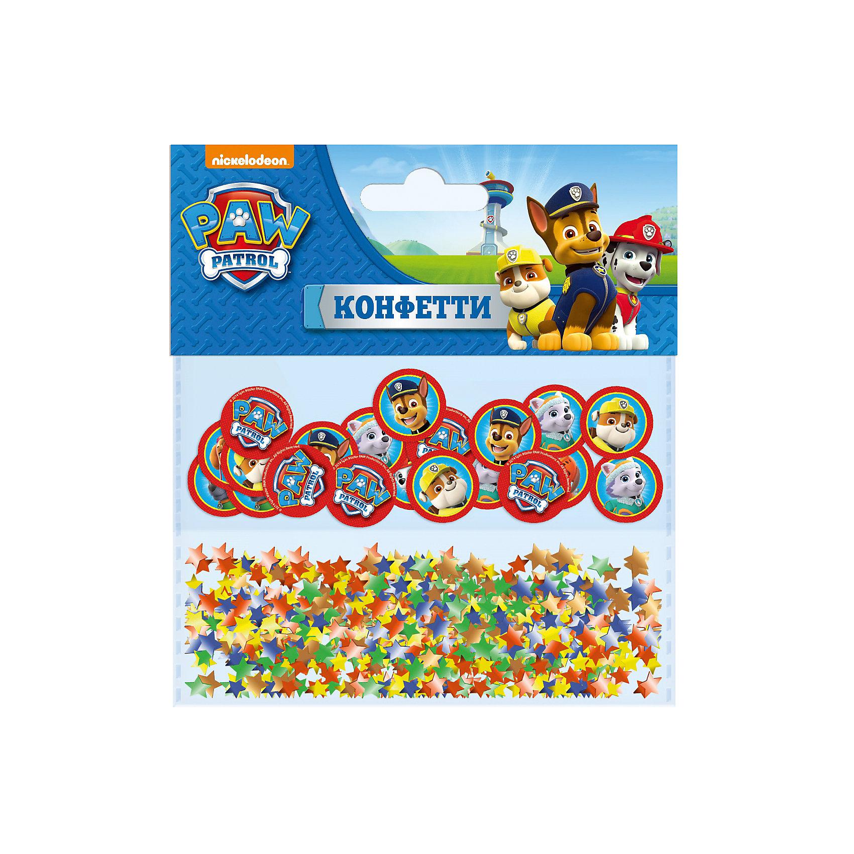 Конфетти 50 шт. с печатью, Щенячий патрульУкрасьте детский праздник необыкновенным конфетти в виде кружочков с любимыми героями мультфильма Щенячий патруль и разноцветных звездочек. Такое торжественное дополнение будет встречено дружным восторгом ребят и подарит всем отличное настроение.&#13;<br>В упаковке 7 г разноцветного фигурного бумажного конфетти в форме звездочек и 50 круглых конфетти с изображением героев мультфильма Щенячий патруль. Упаковка - пакет с хедером.<br><br>Ширина мм: 110<br>Глубина мм: 115<br>Высота мм: 70<br>Вес г: 15<br>Возраст от месяцев: 36<br>Возраст до месяцев: 2147483647<br>Пол: Унисекс<br>Возраст: Детский<br>SKU: 5453482