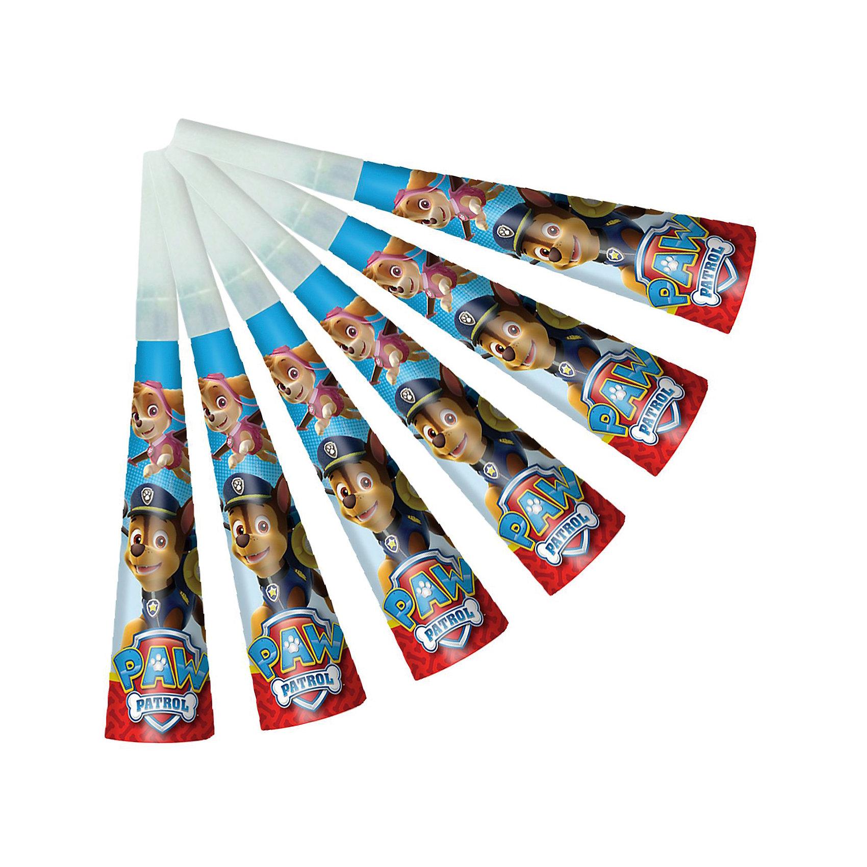 Дудочка 6 шт., Щенячий патрульВсё для праздника<br>Характеристики товара:<br><br>• комплектация: 6 шт<br>• состав: бумага<br>• яркий принт<br>• упаковка: пакет<br>• страна бренда: Россия<br>• страна изготовитель: Китай<br><br>Веселые бумажные дудочки с героями мультфильма Щенячий патруль развеселят ребятишек и помогут устроить множество увлекательных игр. В наборе Щенячий патруль 6 бумажных дудочек, декорированных ярким, привлекательным принтом. <br><br>Дудочки, 6 шт., Щенячий патруль, вы можете приобрести в нашем интернет-магазине.<br><br>Ширина мм: 220<br>Глубина мм: 140<br>Высота мм: 30<br>Вес г: 30<br>Возраст от месяцев: 36<br>Возраст до месяцев: 2147483647<br>Пол: Мужской<br>Возраст: Детский<br>SKU: 5453492