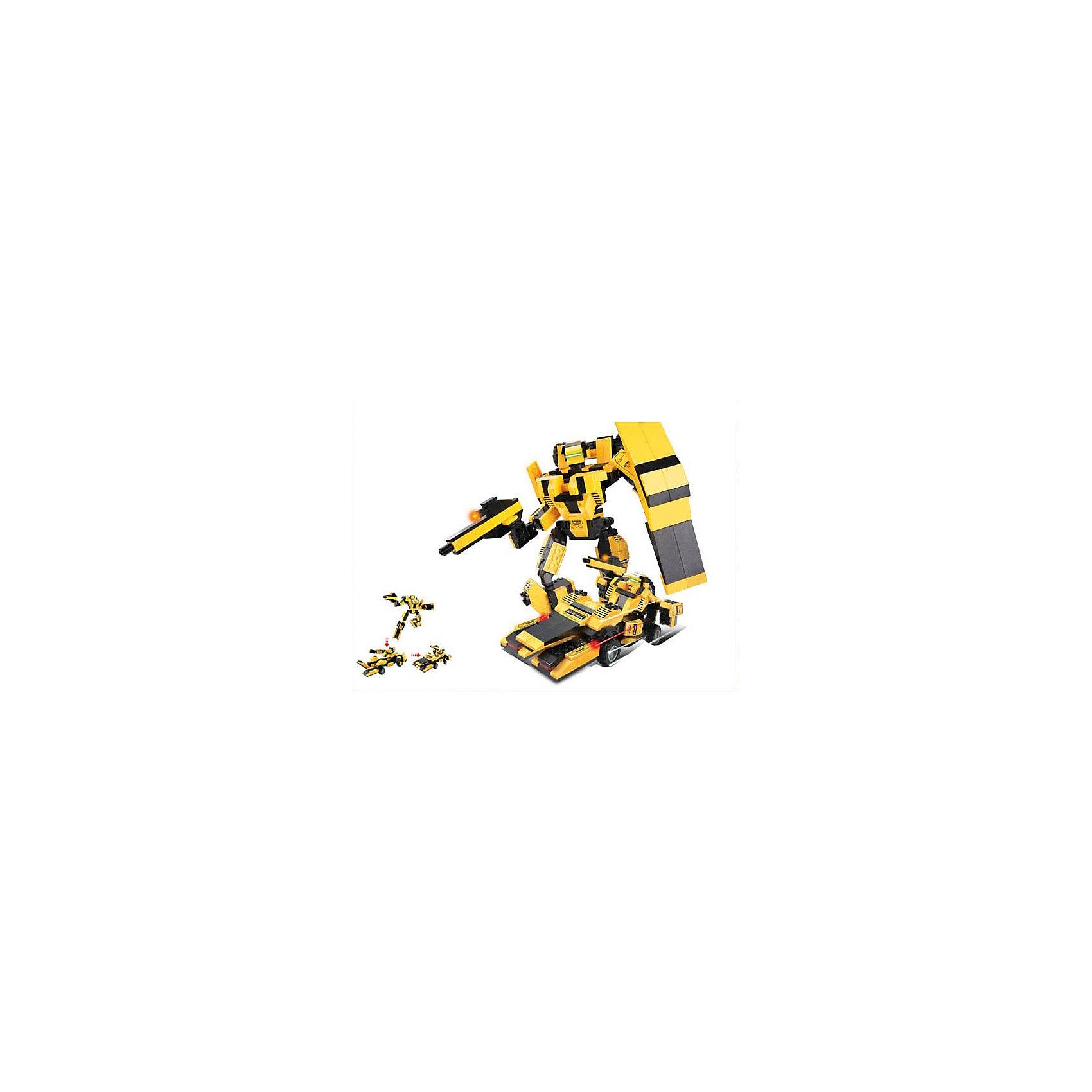 Конструктор Космический десант: Робот-трансформер Король дороги, 284 детали, SlubanПластмассовые конструкторы<br>Конструктор Космический десант: Робот-трансформер Король дороги, 284 детали, Sluban  (Слубан)<br><br>Характеристики:<br><br>• возраст: от 6 лет<br>• робот трансформируется в машину<br>• подвижные колеса<br>• количество деталей: 284<br>• материал: пластик<br>• размер упаковки: 5,4х28,5х28,5 см<br>• вес: 680 грамм<br><br>Король дороги - робот-трансформер, которого ребенок сможет собрать из деталей конструктора Sluban. Устрашающий робот легко трансформируется в автомобиль с подвижными колесами. С этим роботом можно придумать множество увлекательных и захватывающих приключений!<br><br>Конструктор Космический десант: Робот-трансформер Король дороги, 284 детали, Sluban (Слубан)  вы можете купить в нашем интернет-магазине.<br><br>Ширина мм: 285<br>Глубина мм: 285<br>Высота мм: 54<br>Вес г: 680<br>Возраст от месяцев: 72<br>Возраст до месяцев: 2147483647<br>Пол: Мужской<br>Возраст: Детский<br>SKU: 5453695