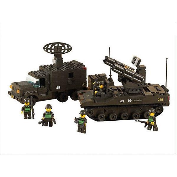 Конструктор Сухопутные войска: Боевая готовность, 511 деталей, SlubanПластмассовые конструкторы<br>Конструктор Сухопутные войска: Боевая готовность, 511 деталей, Sluban  (Слубан)<br><br>Характеристики:<br><br>• возраст: от 6 лет<br>• зенитно-ракетный комплекс и радиолокационная станция<br>• мини-фигурки в комплекте<br>• количество деталей: 511<br>• материал: пластик<br>• размер упаковки: 6х28,5х38 см<br>• вес: 1080 грамм<br><br>Зенитно-ракетный комплекс и радиолокационная станция - мечта любого маленького солдата. Из конструктора Sluban ребенок сможет самостоятельно соорудить необходимую технику. В комплект входят пять фигурок военных, которые быстро найдут цель и уничтожат ее с помощью зенитно-ракетной установки. С этим конструктором ребенок весело проведет время!<br><br>Конструктор Сухопутные войска: Боевая готовность, 511 деталей, Sluban (Слубан)  можно купить в нашем интернет-магазине.<br>Ширина мм: 380; Глубина мм: 285; Высота мм: 60; Вес г: 1080; Возраст от месяцев: 72; Возраст до месяцев: 2147483647; Пол: Мужской; Возраст: Детский; SKU: 5453699;