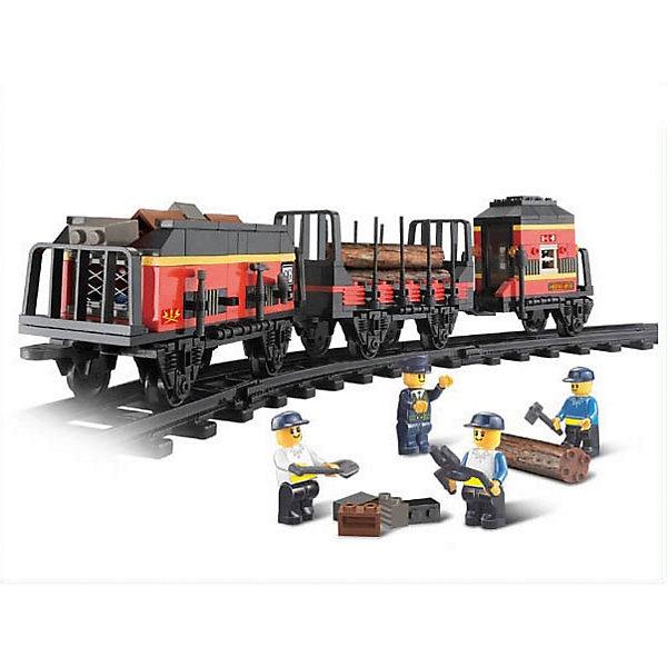 Конструктор Железнодорожный вокзал: Товарный поезд, 255 деталей, SlubanПластмассовые конструкторы<br>Конструктор Железнодорожный вокзал: Товарный поезд, 255 деталей, Sluban (Слубан)<br><br>Характеристики:<br><br>• возраст: от 6 лет<br>• вагоны товарного поезда для железной дороги<br>• количество фигурок: 4<br>• количество деталей: 255<br>• материал: пластик<br>• размер упаковки: 6,7х28,5х38 см<br>• вес: 590 грамм<br><br>Дополнительные вагоны для товарного поезда нужны каждому юному железнодорожнику. В комплект входят 4 фигурки рабочих, которые быстро устранят поломки. Ребенок сможет построить состав из 255 деталей конструктора Sluban. Все детали изготовлены из высококачественного пластика. Игра с конструктором развивает мелкую моторику, усидчивость и воображение.<br><br>Конструктор Железнодорожный вокзал: Товарный поезд, 255 деталей, Sluban (Слубан) вы можете купить в нашем интернет-магазине.<br><br>Ширина мм: 380<br>Глубина мм: 285<br>Высота мм: 67<br>Вес г: 590<br>Возраст от месяцев: 72<br>Возраст до месяцев: 2147483647<br>Пол: Мужской<br>Возраст: Детский<br>SKU: 5453744