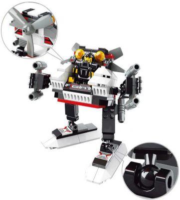 Конструктор Космическая серия: Робот Охотник , 108 деталей, Sluban