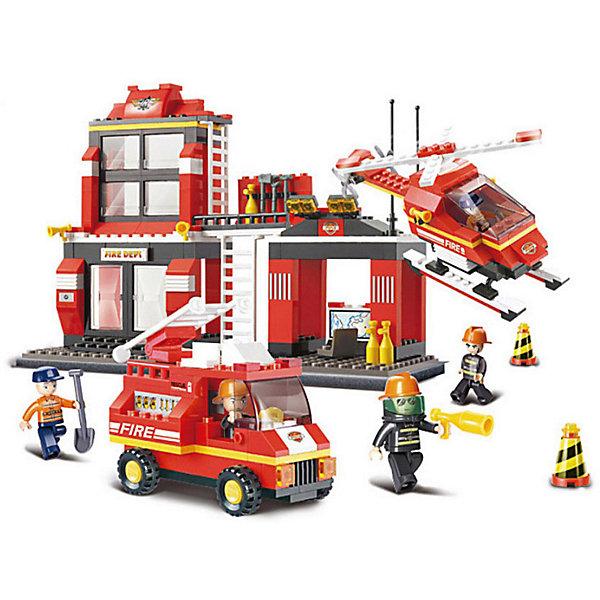 Конструктор Пожарный: Дежурная часть, 371 деталь, SlubanПластмассовые конструкторы<br>Конструктор Пожарный: Дежурная часть, 371 деталь, Sluban (Слубан)<br><br>Характеристики:<br><br>• возраст: от 6 лет<br>• пожарная часть, вертолет и машина из конструктора<br>• количество фигурок: 5<br>• количество деталей: 371<br>• материал: пластик<br>• размер упаковки: 6,7х33х42,5 см<br>• вес: 920 грамм<br><br>Пожарная часть готова прийти на помощь по первому зову. Для этого у нее в арсенале есть большая вышка, вертолет, машина и все необходимые аксессуары. Ребенку предстоит построить их из 371 детали конструктора Sluban. С пятью фигурками можно придумать самую захватывающую спасательную операцию. Игра способствует развитию моторики рук,, воображения, усидчивости.<br><br>Конструктор Пожарный: Дежурная часть, 371 деталь, Sluban (Слубан) вы можете купить в нашем интернет-магазине.<br><br>Ширина мм: 425<br>Глубина мм: 330<br>Высота мм: 67<br>Вес г: 920<br>Возраст от месяцев: 72<br>Возраст до месяцев: 2147483647<br>Пол: Мужской<br>Возраст: Детский<br>SKU: 5453763