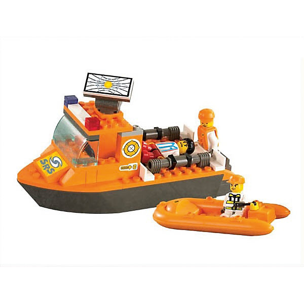 Конструктор Спасатели: Катер и лодка, 78 деталей, SlubanПластмассовые конструкторы<br>Конструктор Спасатели: Катер и лодка, 78 деталей, Sluban (Слубан)<br><br>Характеристики:<br><br>• возраст: от 6 лет<br>• полицейский катер и лодка из конструктора<br>• количество деталей: 78<br>• количество фигурок: 3<br>• материал: пластик<br>• размер упаковки: 4,5х18,9х23,7 см<br>• вес: 230 грамм<br><br>Береговая охрана быстро спасет утопающих, если у них есть катер и лодка. Построить их можно, собрав 78 деталей конструктора Sluban. В набор входят 3 фигурки спасателей, готовых прийти на помощь. Сюжетно-ролевые игры развивают мелкую моторику, воображение и усидчивость.<br><br>Конструктор Спасатели: Катер и лодка, 78 деталей, Sluban (Слубан) вы можете купить в нашем интернет-магазине.<br><br>Ширина мм: 237<br>Глубина мм: 189<br>Высота мм: 45<br>Вес г: 230<br>Возраст от месяцев: 72<br>Возраст до месяцев: 2147483647<br>Пол: Мужской<br>Возраст: Детский<br>SKU: 5453779