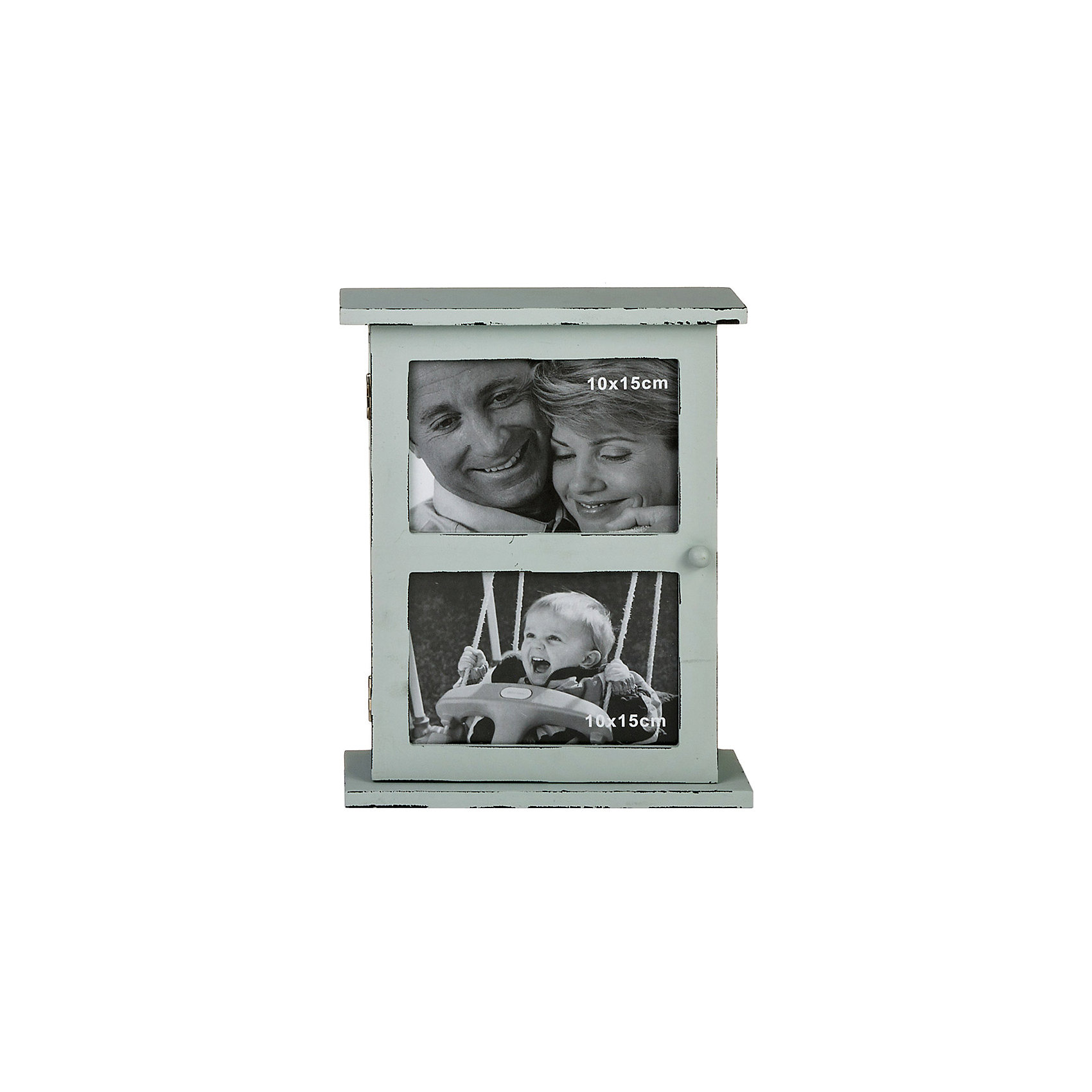 Ключница Miralight со стеклянной дверцей и 2 фоторамками, Яркий праздникПредметы интерьера<br>Ключница Miralight со стеклянной дверцей и 2 фоторамками, Яркий праздник<br><br>Характеристики:<br><br>• Состав: древесноволокнистая плита средней плотности, стекло<br>• Размер фотографий: 10 * 15 см.<br>• Размер: 26,5 * 6,5 * 21 см.<br>• Страна производитель: Китай<br><br>Изящная ключница от компании Miralight (Миралайт) станет стильным украшением прихожей и практичным местом, где будут храниться ключи дома. Благодаря двум петлям коробочку можно повесить на стену, а можно просто поставить на полочку или комод. Ключница станет отличным и актуальным подарком на новоселье и будет просто незаменима на даче. <br><br>Целых шесть удобных крючков для ключей уберегут ключи от потери и от шустрых пальчиков маленьких детей. Лаконичный пастельный цвет ключницы впишется в любой интерьер. Вы можете вставить две горизонтальные семейные фотографии стандартного размера, чтобы персонализировать вашу ключнику. Привнесите в свой дом атмосферу уюта и яркого праздника вместе с новой ключницей!<br><br>Ключницу Miralight со стеклянной дверцей и 2 фоторамками, Яркий праздник можно купить в нашем интернет-магазине.<br><br>Ширина мм: 210<br>Глубина мм: 65<br>Высота мм: 265<br>Вес г: 215<br>Возраст от месяцев: 36<br>Возраст до месяцев: 2147483647<br>Пол: Унисекс<br>Возраст: Детский<br>SKU: 5453955