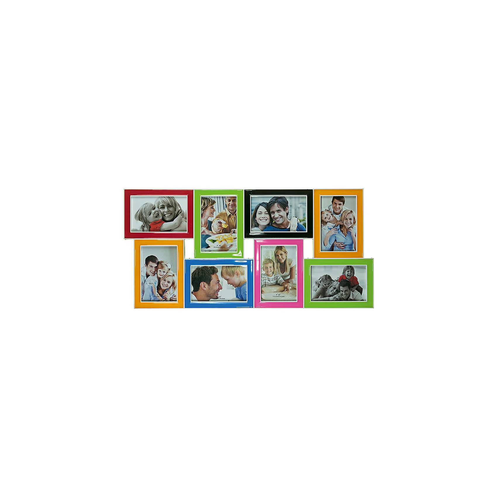 Фоторамка Platinum, пластик, разноцветная, Яркий праздникФоторамка Platinum, пластик, разноцветная, Яркий праздник<br><br>Характеристики:<br><br>• Состав: пластик<br>• Размер: 63 * 3 * 30 см.<br>• Размер фотографий: 10 * 15 см.<br>• Страна производитель: Китай<br><br>Изящная подвесная фоторамка включает в себя целых восемь рамок от компании, специализирующейся на производстве фоторамок для интерьеров Platinum (Платинум), и оживит сразу несколько воспоминаний! Фоторамки станут стильным украшением комнаты, а веселые глянцевые цвета отлично подойдет как для спальни, так и для кухни или гостиной. <br><br>Фоторамки отделаны рельефным дизайном, расположены структурированно и отлично подойдут для серии горизонтальных и вертикальных тематических снимков. Размер всех рамок 10 * 15 см, это стандартный размер фото, поэтому для этой фоторамки вам не потребуется перепечатывать уже имеющиеся фото. Фоторамка станет превосходным подарком для любого важного события от годовщины до новоселья. Привнесите в дом атмосферу комфорта и яркого праздника вместе с новой фоторамкой!<br><br>Фоторамку Platinum, пластик, разноцветную, Яркий праздник можно купить в нашем интернет-магазине.<br><br>Ширина мм: 630<br>Глубина мм: 48<br>Высота мм: 300<br>Вес г: 440<br>Возраст от месяцев: 36<br>Возраст до месяцев: 2147483647<br>Пол: Унисекс<br>Возраст: Детский<br>SKU: 5454005