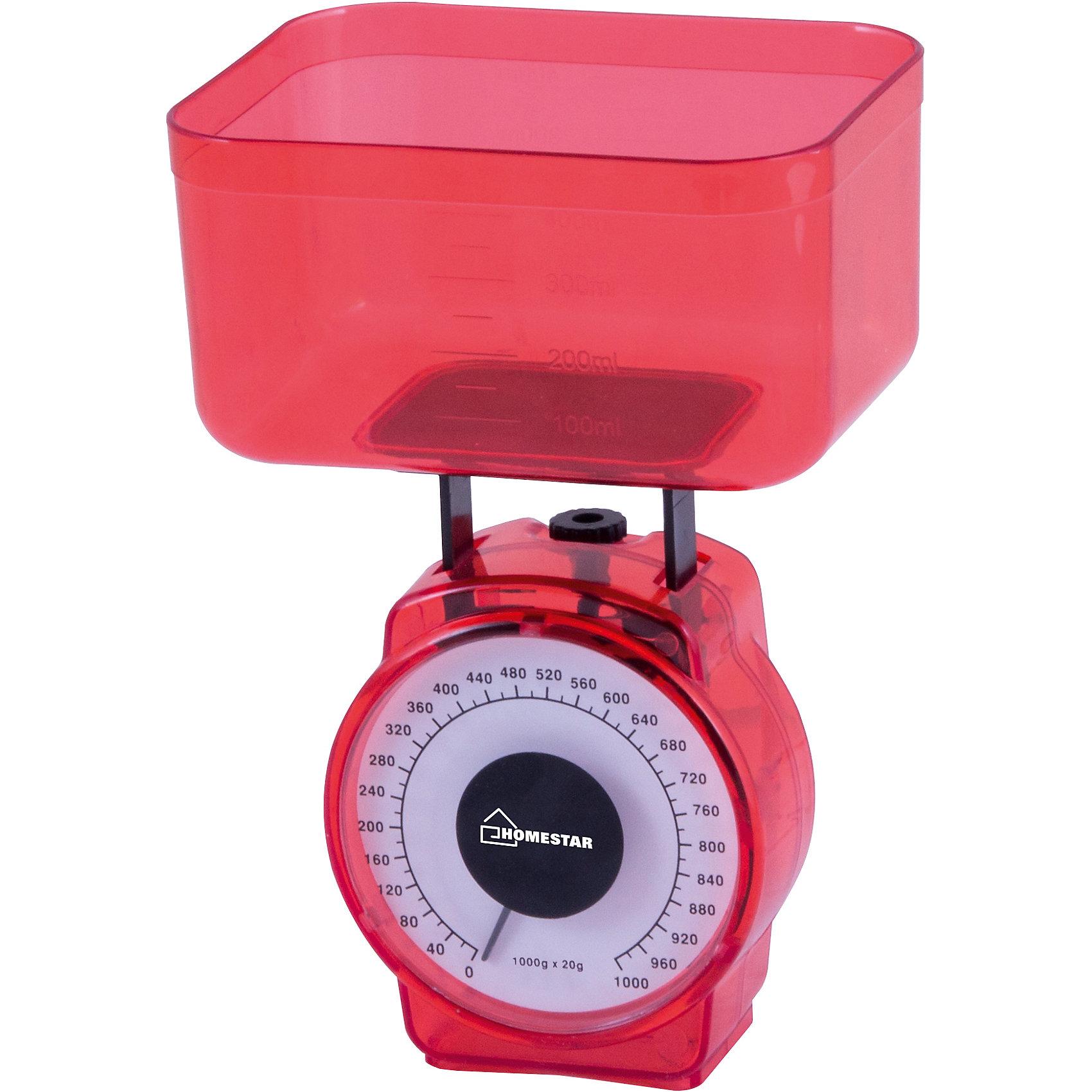 Весы кухонные механические HS-3004М, HOMESTAR, красныйВесы кухонные механические HOMESTAR HS-3004М, 1 кг, цвет красный<br><br>Ширина мм: 100<br>Глубина мм: 70<br>Высота мм: 120<br>Вес г: 155<br>Возраст от месяцев: 216<br>Возраст до месяцев: 1188<br>Пол: Унисекс<br>Возраст: Детский<br>SKU: 5454044