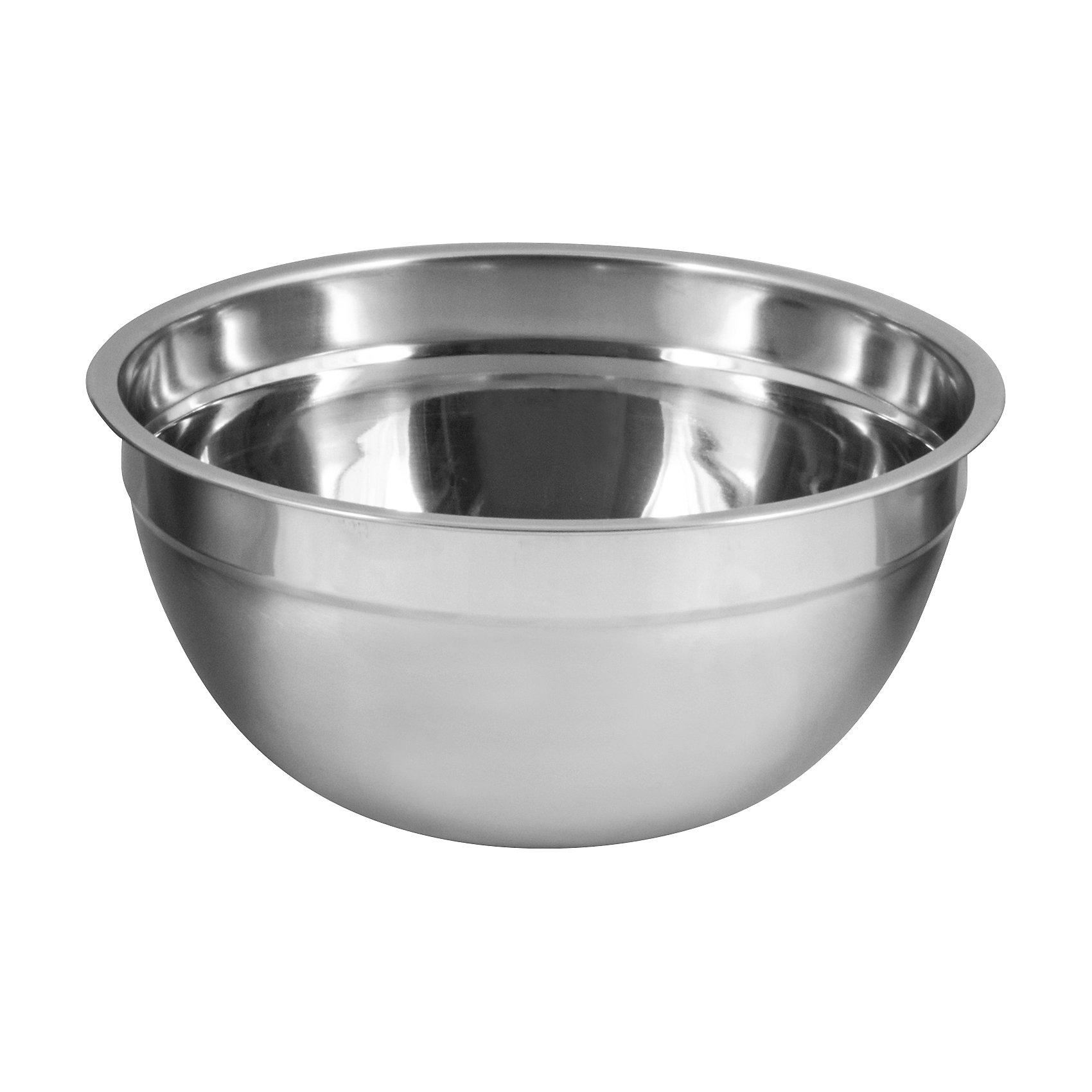 Миска BOWL-RING-22, 22*10 см, 2,5 л, MallonyБытовая техника для кухни<br>Миска BOWL-RING-22, 22*10 см, 2,5 л, Mallony (Маллони)<br><br>Характеристики:<br><br>• зеркальная полировка<br>• одинарное дно<br>• расширенные края<br>• нержавеющая сталь<br>• размер: 22х10 см<br>• объем: 2,5 л<br><br>Миска BOWL-RING-22 пригодится вам на кухне. Она изготовлена из нержавеющей стали, имеет зеркальную полировку и одинарное дно. С помощью расширенных краев вы сможете удобно поднять или перенести миску. Диаметр миски - 23 сантиметра. Объем - 2,5 литра.<br><br>Миску BOWL-RING-22, 22*10 см, 2,5 л, Mallony (Маллони) можно купить в нашем интернет-магазине.<br><br>Ширина мм: 230<br>Глубина мм: 220<br>Высота мм: 100<br>Вес г: 227<br>Возраст от месяцев: 12<br>Возраст до месяцев: 36<br>Пол: Унисекс<br>Возраст: Детский<br>SKU: 5454066