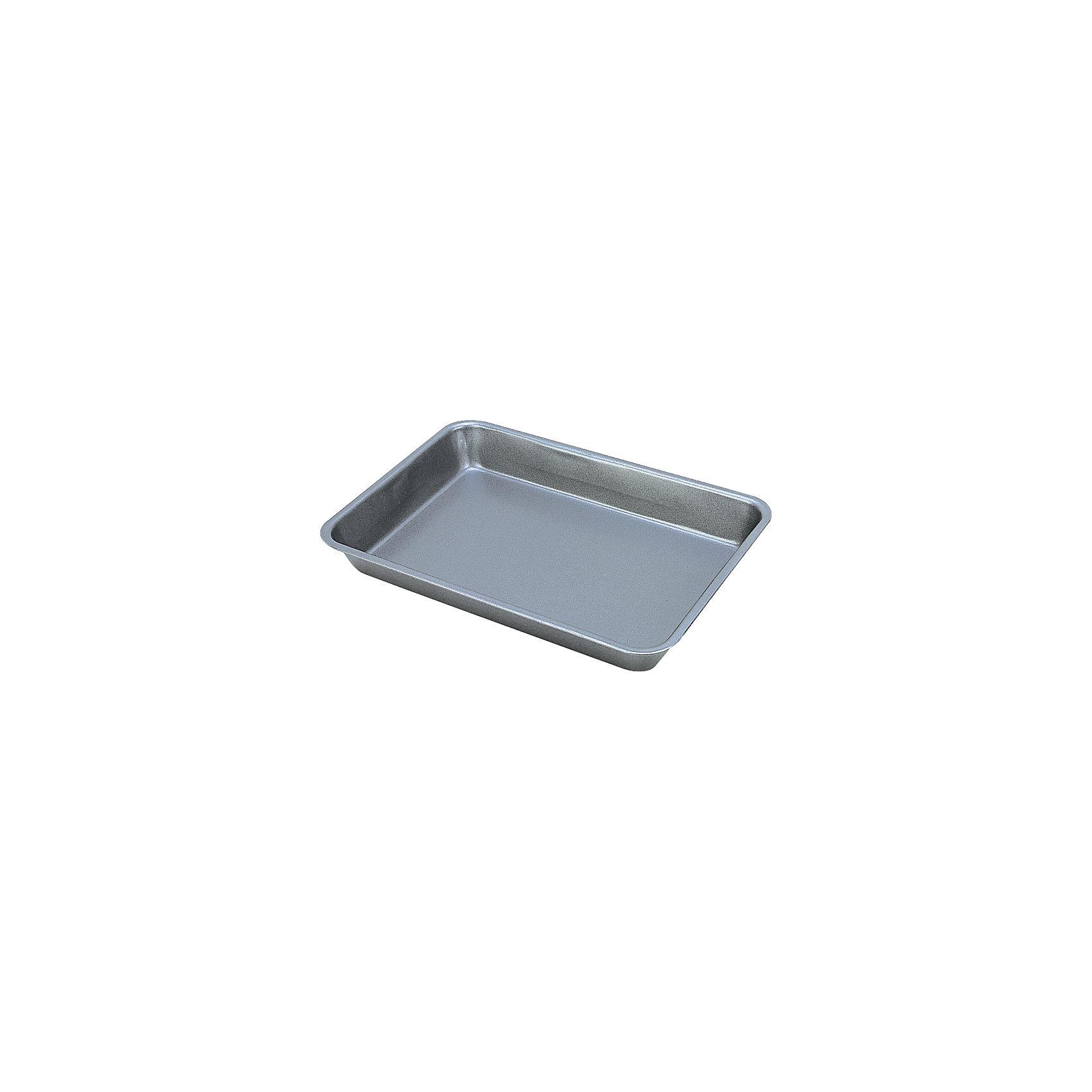 Противень для выпечки MAL-K001SБытовая техника для кухни<br>Противень для выпечки MAL-K001S, Mallony (Маллони)<br><br>Характеристики:<br><br>• двойное антипригарное покрытие<br>• изготовлен из карбоновой стали<br>• размер: 28х19,5х3,8 см<br>• рабочая поверхность: 26х17 см<br>• толщина: 0,4 мм<br><br>С противнем для выпечки можно приготовить множество вкусных блюд. Противень изготовлен из карбоновой стали толщиной 0,4 мм. Имеет двухслойное антипригарное покрытие. Высокие бортики позволят вам запекать объемные продукты. А расширенные края удобны для переноски.<br><br>Противень для выпечки MAL-K001S, Mallony (Маллони) вы можете купить в нашем интернет-магазине.<br><br>Ширина мм: 290<br>Глубина мм: 200<br>Высота мм: 40<br>Вес г: 254<br>Возраст от месяцев: 216<br>Возраст до месяцев: 1188<br>Пол: Унисекс<br>Возраст: Детский<br>SKU: 5454069