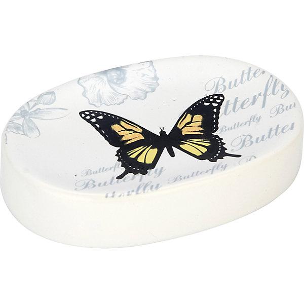 Мыльница Бабочки SD-FLY, Рыжий котАксессуары для ванны<br>Мыльница Бабочки SD-FLY, Рыжий кот<br><br>Характеристики:<br><br>• привлекательный дизайн<br>• размер: 11,3х8,1х2,4 см<br>• материал: керамика<br><br>Мыльница Бабочки станет полезным аксессуаром и оригинальным украшением для вашей ванной комнаты. Она изготовлена из керамики и имеет овальную форму. Поверхность оформлена изображением бабочки. Мыльница легко очищается.<br><br>Мыльницу Бабочки SD-FLY, Рыжий кот вы можете купить в нашем интернет-магазине.<br><br>Ширина мм: 110<br>Глубина мм: 80<br>Высота мм: 20<br>Вес г: 153<br>Возраст от месяцев: 12<br>Возраст до месяцев: 216<br>Пол: Унисекс<br>Возраст: Детский<br>SKU: 5454075