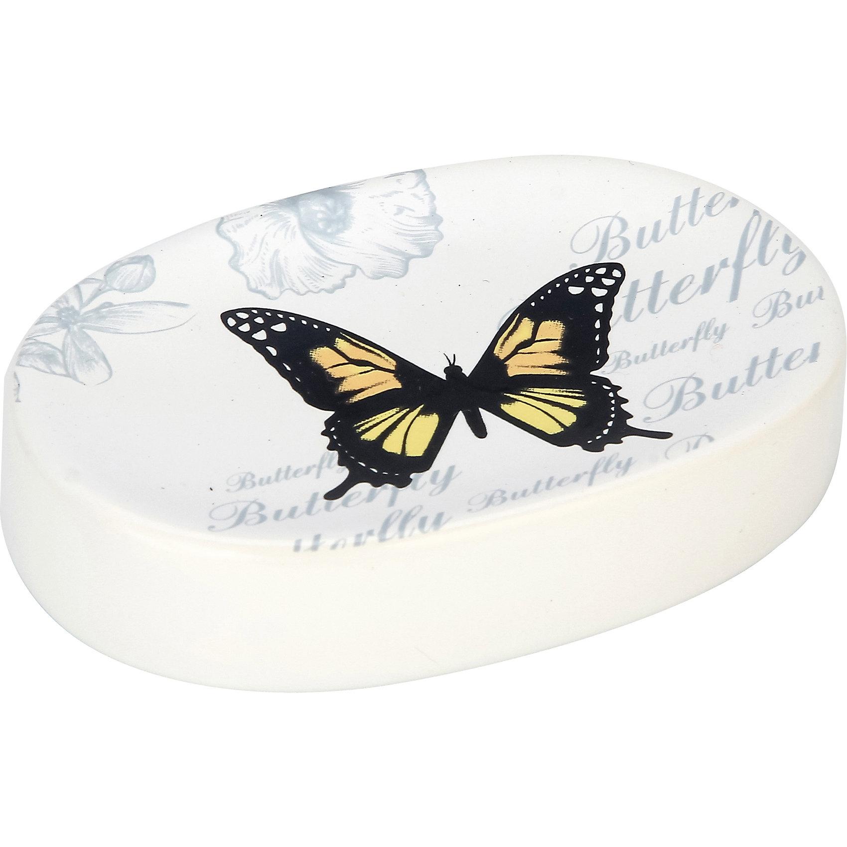Мыльница Бабочки SD-FLY, Рыжий котВанная комната<br>Мыльница Бабочки SD-FLY, Рыжий кот<br><br>Характеристики:<br><br>• привлекательный дизайн<br>• размер: 11,3х8,1х2,4 см<br>• материал: керамика<br><br>Мыльница Бабочки станет полезным аксессуаром и оригинальным украшением для вашей ванной комнаты. Она изготовлена из керамики и имеет овальную форму. Поверхность оформлена изображением бабочки. Мыльница легко очищается.<br><br>Мыльницу Бабочки SD-FLY, Рыжий кот вы можете купить в нашем интернет-магазине.<br><br>Ширина мм: 110<br>Глубина мм: 80<br>Высота мм: 20<br>Вес г: 153<br>Возраст от месяцев: 12<br>Возраст до месяцев: 216<br>Пол: Унисекс<br>Возраст: Детский<br>SKU: 5454075
