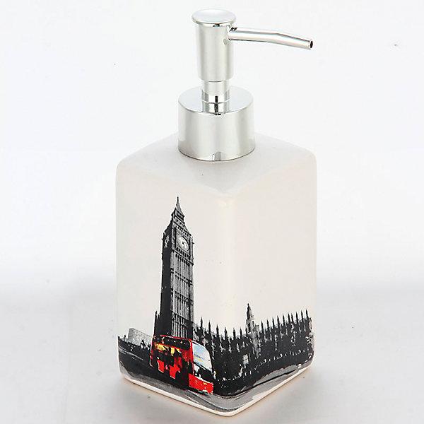 Дозатор для жидкого мыла Лондон DIS-L, Рыжий котАксессуары для ванны<br>Дозатор для жидкого мыла Лондон DIS-L, Рыжий кот<br><br>Характеристики:<br><br>• приятный дизайн<br>• удобный дозатор<br>• материал: керамика<br>• объем: 250 мл<br>• размер: 6,6х6,6х17 см<br><br>Дозатор Лондон изготовлен из керамики с изображением в стиле Лондона. Дозатор имеет удобную форму и очень прост в применении. Объем дозатора составляет 250 мл. Дозатор Лондон займет достойное место в вашей ванной комнате!<br><br>Дозатор для жидкого мыла Лондон DIS-L, Рыжий кот можно купить в нашем интернет-магазине.<br>Ширина мм: 90; Глубина мм: 100; Высота мм: 190; Вес г: 292; Возраст от месяцев: 12; Возраст до месяцев: 216; Пол: Унисекс; Возраст: Детский; SKU: 5454078;