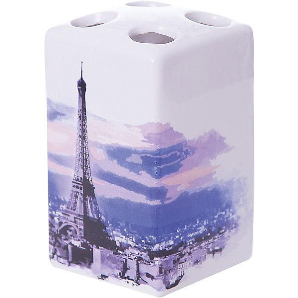 Держатель для зубных щеток Париж TBH-P, Рыжий котАксессуары для ванны<br>Держатель для зубных щеток Париж TBH-P, Рыжий кот<br><br>Характеристики:<br><br>• четыре отверстия для зубных щеток<br>• приятный дизайн<br>• материал: керамика<br>• размер: 6,6х6,6х10,5 см<br><br>Держатель Париж предназначен для хранения зубных щеток. Он имеет четыре небольших отверстия для щеток, что отлично подойдет для большой семьи. Держатель изготовлен из керамики и оформлен изображением Эйфелевой башни.<br><br>Держатель для зубных щеток Париж TBH-P, Рыжий кот можно купить в нашем интернет-магазине.<br>Ширина мм: 100; Глубина мм: 90; Высота мм: 110; Вес г: 270; Возраст от месяцев: 12; Возраст до месяцев: 216; Пол: Унисекс; Возраст: Детский; SKU: 5454085;
