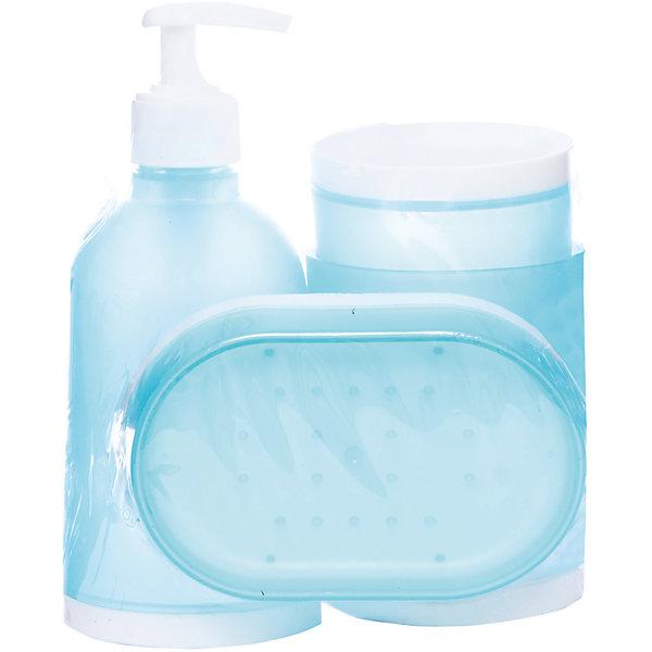 Набор для ванной 4 предмета BS2, Рыжий котАксессуары для ванны<br>Набор для ванной 4 предмета BS2, Рыжий кот<br><br>Характеристики:<br><br>• в комплекте: диспенсер, стакан, мыльница, держатель для зубных щеток<br>• размер диспенсера: 17х17,5 см<br>• размер стакана: 10х7,5 см<br>• размер мыльницы: 12х8,5х2,5 см<br>• размер держателя для зубных щеток: 12х7,5 см<br>• материал: полипропилен<br><br>Набор BS2 состоит из диспенсера, стакана, мыльницы и держателя для зубных щеток. Все аксессуары изготовлены из полипропилена. Он не скользит по поверхности и легко очищается. Приятный дизайн бело-голубого цвета отлично дополнит вашу ванную комнату.<br><br>Набор для ванной 4 предмета BS2, Рыжий кот вы можете купить в нашем интернет-магазине.<br>Ширина мм: 140; Глубина мм: 100; Высота мм: 170; Вес г: 285; Возраст от месяцев: 12; Возраст до месяцев: 216; Пол: Унисекс; Возраст: Детский; SKU: 5454092;