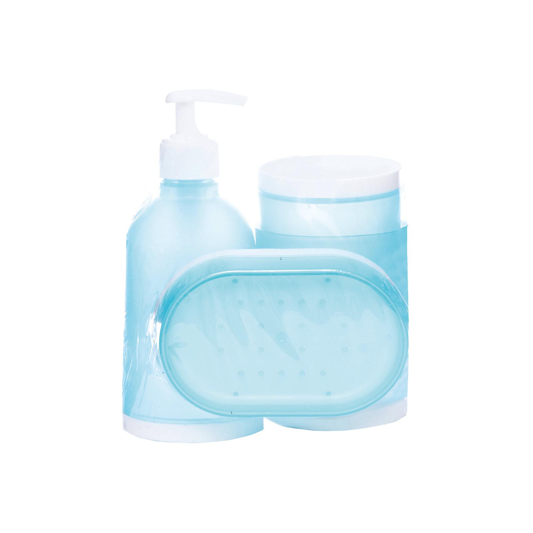 Набор для ванной 4 предмета BS2, Рыжий котВанная комната<br>Набор для ванной 4 предмета BS2, Рыжий кот<br><br>Характеристики:<br><br>• в комплекте: диспенсер, стакан, мыльница, держатель для зубных щеток<br>• размер диспенсера: 17х17,5 см<br>• размер стакана: 10х7,5 см<br>• размер мыльницы: 12х8,5х2,5 см<br>• размер держателя для зубных щеток: 12х7,5 см<br>• материал: полипропилен<br><br>Набор BS2 состоит из диспенсера, стакана, мыльницы и держателя для зубных щеток. Все аксессуары изготовлены из полипропилена. Он не скользит по поверхности и легко очищается. Приятный дизайн бело-голубого цвета отлично дополнит вашу ванную комнату.<br><br>Набор для ванной 4 предмета BS2, Рыжий кот вы можете купить в нашем интернет-магазине.<br><br>Ширина мм: 140<br>Глубина мм: 100<br>Высота мм: 170<br>Вес г: 285<br>Возраст от месяцев: 12<br>Возраст до месяцев: 216<br>Пол: Унисекс<br>Возраст: Детский<br>SKU: 5454092