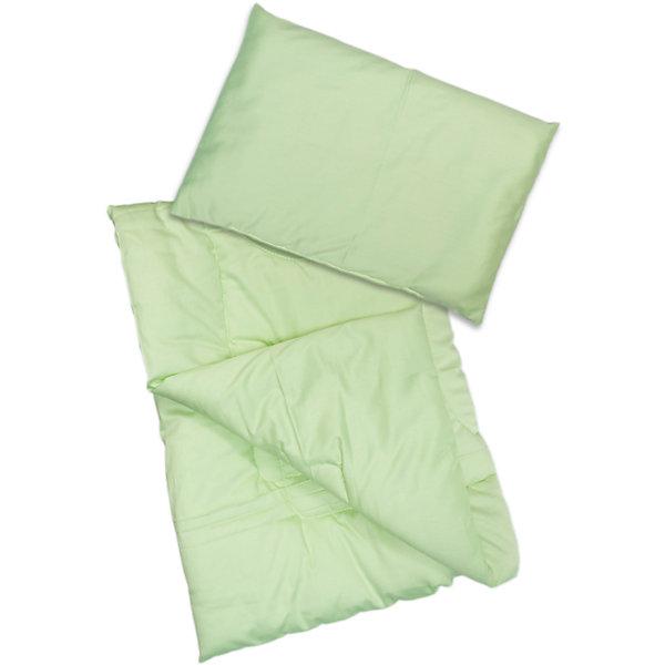 Комплект Одеяло с подушкой Алоэ, 65, Сонный Гномик