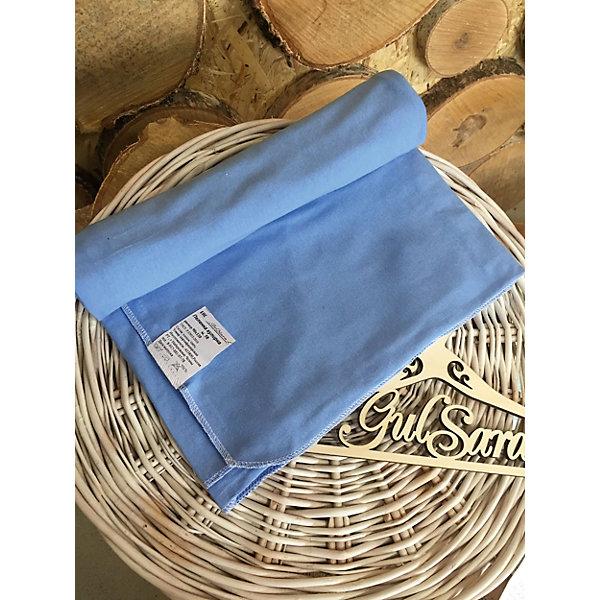 Пеленка трикотажная, 80*100, голубойПеленки для новорожденных<br>Характеристики:<br><br>• детская пеленка для новорожденных;<br>• используется для пеленания, купания; <br>• используется как покрытие на пеленальный столик, а также в коляске и кроватке;<br>• размер пеленки: 80х100 см;<br>• цвет: пеленка однотонная;<br>• материал: трикотаж;<br>• ткань: 100% хлопок;<br>• размер упаковки: 25х2х2 см;<br>• вес: 100 г.<br><br>Детская пеленка GulSara – необходимая вещь при появлении новорожденного в семье. Пеленка используется для пеленания крохи, а также в качестве мягкой основы на клеенке, столике, в кроватке. Пеленка GulSara трикотажная, легко стирается, быстро сохнет, хорошо гладится. <br><br>Пеленку трикотажную, 80*100, цвет голубой можно купить в нашем интернет-магазине.<br><br>Ширина мм: 250<br>Глубина мм: 20<br>Высота мм: 20<br>Вес г: 100<br>Возраст от месяцев: 0<br>Возраст до месяцев: 6<br>Пол: Мужской<br>Возраст: Детский<br>SKU: 5465353