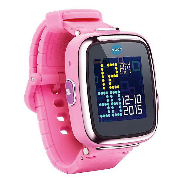 Цифровые часы для детей Kidizoom Smartwatch DX, розовые, VtechУмные часы<br>Характеристики:<br><br>• Материал: пластик <br>• Цифровые часы<br>• Встроенный фотоаппарат<br>• Видеосъемка и обработка изображений<br>• Запись голоса<br>• Встроенный Li-ion аккумулятор<br>• 5 встроенных игр<br>• Объем памяти устройства: 256 МБ (на 800 фото)<br>• Длина ремешка: 22 см<br>• Размер дисплея 5*5 см<br>• Особенности ухода: допускается сухая чистка<br><br>Цифровые часы для детей Kidizoom Smartwatch DX, розовые, Vtech – это многофункциональный интерактивный гаджет от французского производителя, который является мировым лидером по выпуску электронных обучающих устройств и игрушек. Эти уникальные часы относятся к последнему поколению обучающих электронных устройств для детей. <br><br>Многофункциональные часы включают в себя множество полезных и необходимых функций, которые позволят вашему ребенку не только соблюдать режим, но и осваивать современные технологии. В часы встроена видеокамера, фотоаппарат, будильник, шагомер, калькулятор, таймер, диктофон и календарь. Разнообразные настройки позволяют оформить дисплей с учетом индивидуального вкуса.<br><br>Корпус и элементы часов выполнены из прорезиненного пластика, устойчивого к появлению царапин и сколов. Размер ремешка у часов универсальный. Часы оснащены аккумулятором, который способен держать уровень заряд до 2-х недель.<br><br>Цифровые часы для детей Kidizoom Smartwatch DX, розовые, Vtech можно купить в нашем интернет-магазине.<br>Ширина мм: 127; Глубина мм: 279; Высота мм: 87; Вес г: 576; Возраст от месяцев: 48; Возраст до месяцев: 108; Пол: Унисекс; Возраст: Детский; SKU: 5471075;