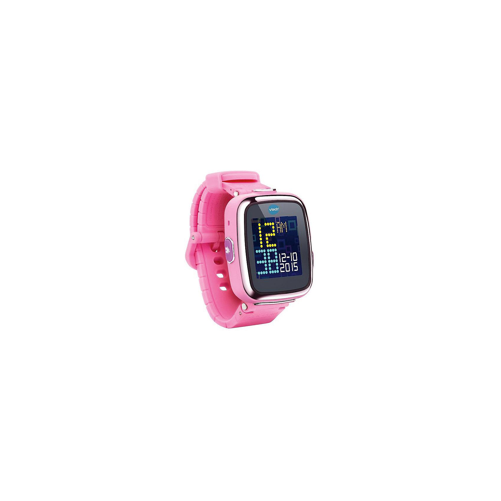 Цифровые часы для детей Kidizoom Smartwatch DX, розовые, Vtech<br><br>Ширина мм: 127<br>Глубина мм: 279<br>Высота мм: 87<br>Вес г: 576<br>Возраст от месяцев: 48<br>Возраст до месяцев: 108<br>Пол: Унисекс<br>Возраст: Детский<br>SKU: 5471075