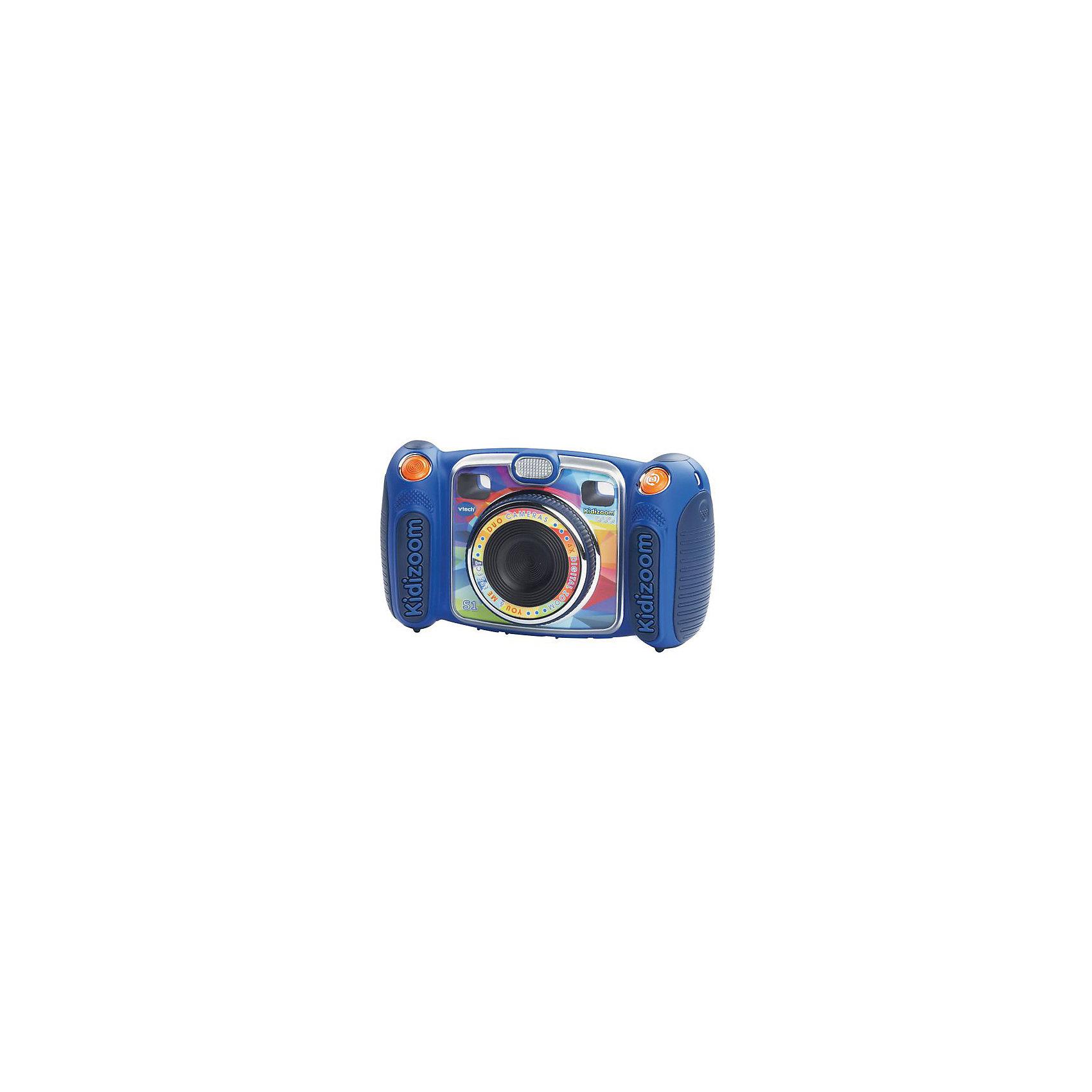 Цифровая камера Kidizoom duo, голубая, Vtech<br><br>Ширина мм: 203<br>Глубина мм: 279<br>Высота мм: 71<br>Вес г: 1550<br>Возраст от месяцев: 72<br>Возраст до месяцев: 108<br>Пол: Унисекс<br>Возраст: Детский<br>SKU: 5471079