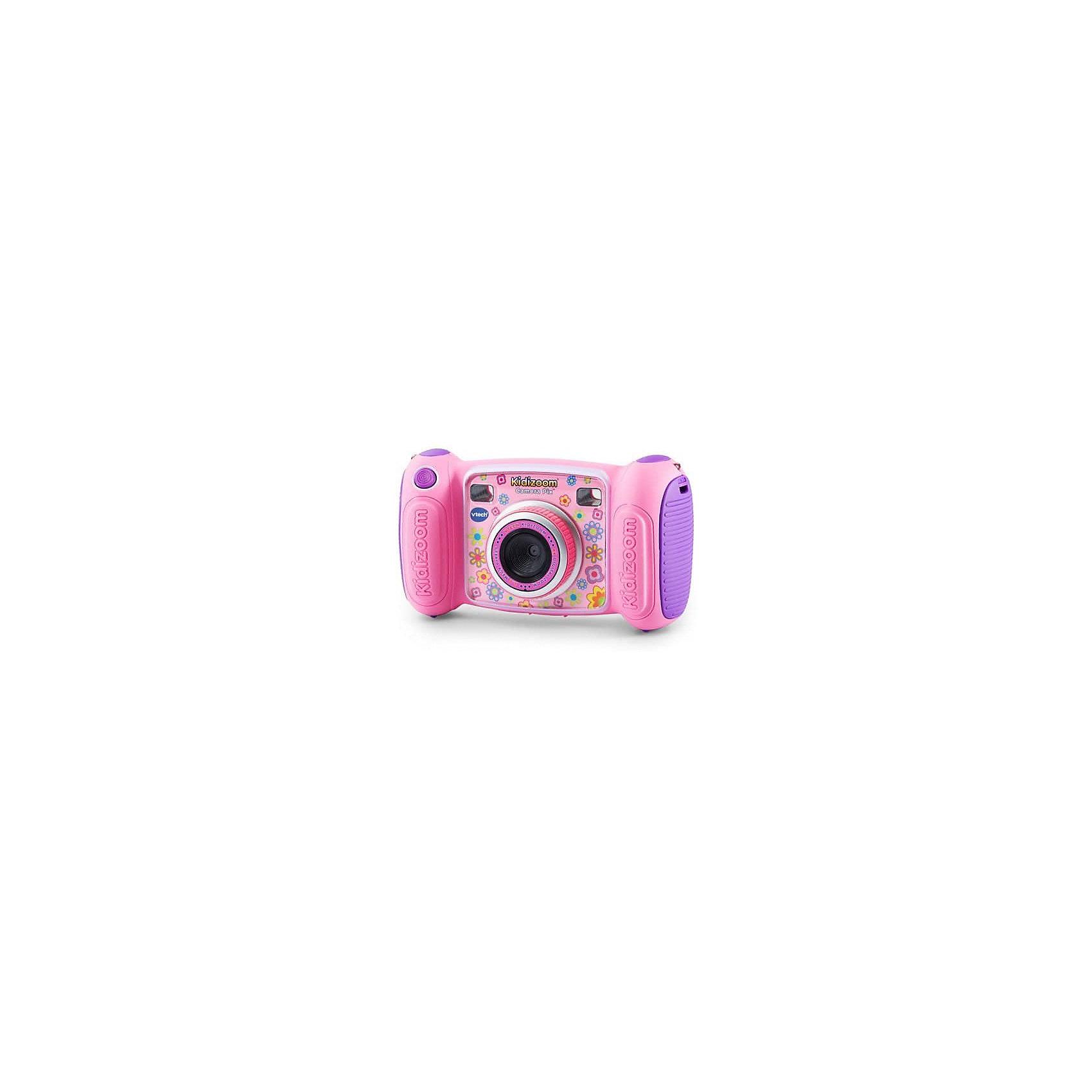 Цифровая камера Kidizoom Pix, розовая, VtechДетская электроника<br>Характеристики:<br><br>• Материал: пластик <br>• Комплектация: камера, кабель, браслет, инструкция<br>• Разрешение камеры: 0,3 Мп<br>• Встроенный диктофон с функциями изменения голоса<br>• Встроенные приложения для создания спецэффектов<br>• 3 встроенные игры<br>• Объем памяти устройства: 128 МБ (на 1000 фото)<br>• Размеры (Д*Ш*В): 16,2*5,8*9,1 см<br>• Вес: 380 г<br>• Особенности ухода: допускается сухая чистка<br><br>Цифровая камера Kidizoom Pix, розовая, Vtech – это многофункциональный интерактивный гаджет от французского производителя, который является мировым лидером по выпуску электронных обучающих устройств и игрушек. <br><br>Эта уникальная камера относятся к последнему поколению цифровых обучающих устройств для детей. Многофункциональное устройство включает в себя множество полезных и необходимых функций, которые позволят вашему ребенку осваивать современные технологии в фото и видеосъемке. <br><br>Камера имеет компактный размер и легкий вес, благодаря чему ее можно брать с собой на велосипедные прогулки, в путешествия или экспедиции. <br>Большой объем памяти позволяет хранить до 1000 снимков. Различные встроенные функции позволят обрабатывать и оформлять изображения, создавать из них анимированные ролики. <br><br>Цифровую камеру Kidizoom Pix, розовая, Vtech можно купить в нашем интернет-магазине.<br><br>Ширина мм: 203<br>Глубина мм: 279<br>Высота мм: 71<br>Вес г: 600<br>Возраст от месяцев: 72<br>Возраст до месяцев: 108<br>Пол: Женский<br>Возраст: Детский<br>SKU: 5471082