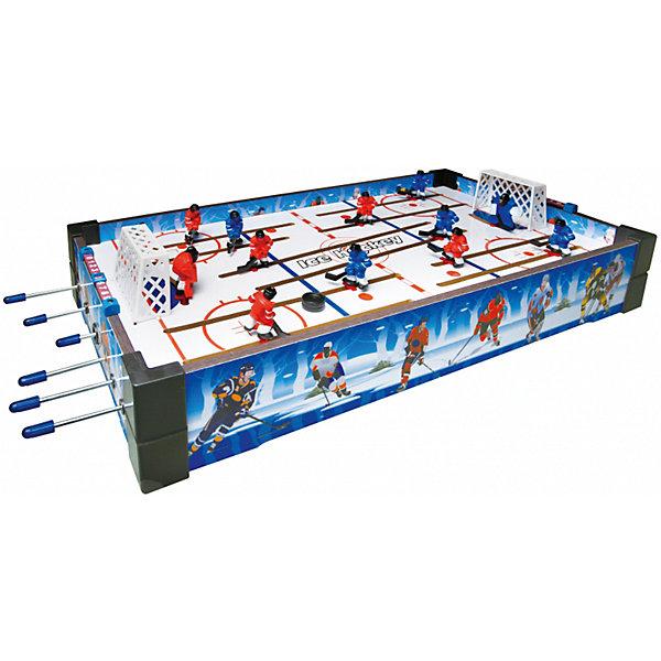 Настольная игра Хоккей, ZilmerСпортивные настольные игры<br>Характеристики товара:<br><br>• материал: пластик<br>• размер поля: 60x30x10 см<br>• комплектация: поле, 6 ручек, 2 шайбы, правила, инструкция<br>• настольная<br>• возраст: от 3 лет<br>• вес: 1 кг<br>• страна производства: Китай<br><br>Настольная игра Хоккей - это отличный способ помочь развитию ребенка. Она способствует скорейшему развитию пространственного мышления, логики, аналитических способностей, ловкости и упорства. Помимо этого, играть в неё - очень увлекательное занятие!<br><br>Цель в том, чтобы забить сопернику гол с помощью своих игроков. Для этого нужно выбирать - какого хоккеиста необходимо задействовать в данный момент, а потом быстро двигать его с помощью ручки. Отличный способ весело провести время с друзьями!<br><br>Настольную игру Хоккей, от бренда Zilmer можно купить в нашем интернет-магазине.<br><br>Ширина мм: 620<br>Глубина мм: 315<br>Высота мм: 105<br>Вес г: 2600<br>Возраст от месяцев: 36<br>Возраст до месяцев: 72<br>Пол: Мужской<br>Возраст: Детский<br>SKU: 5471156